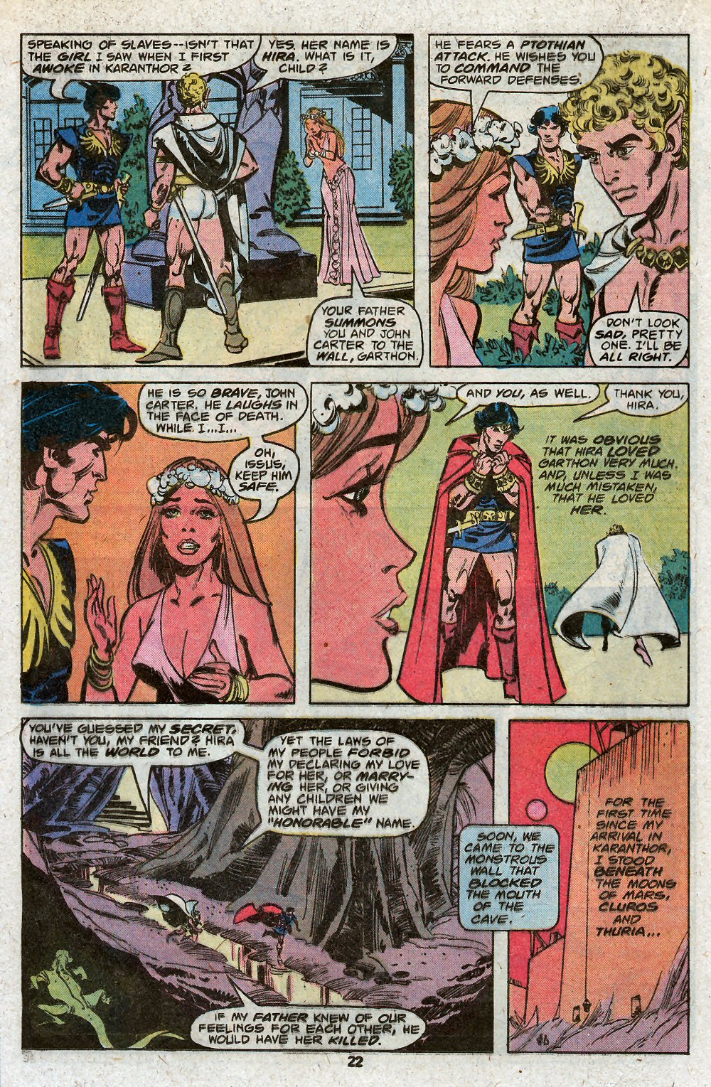 John Carter Warlord of Mars issue 19 - Page 24