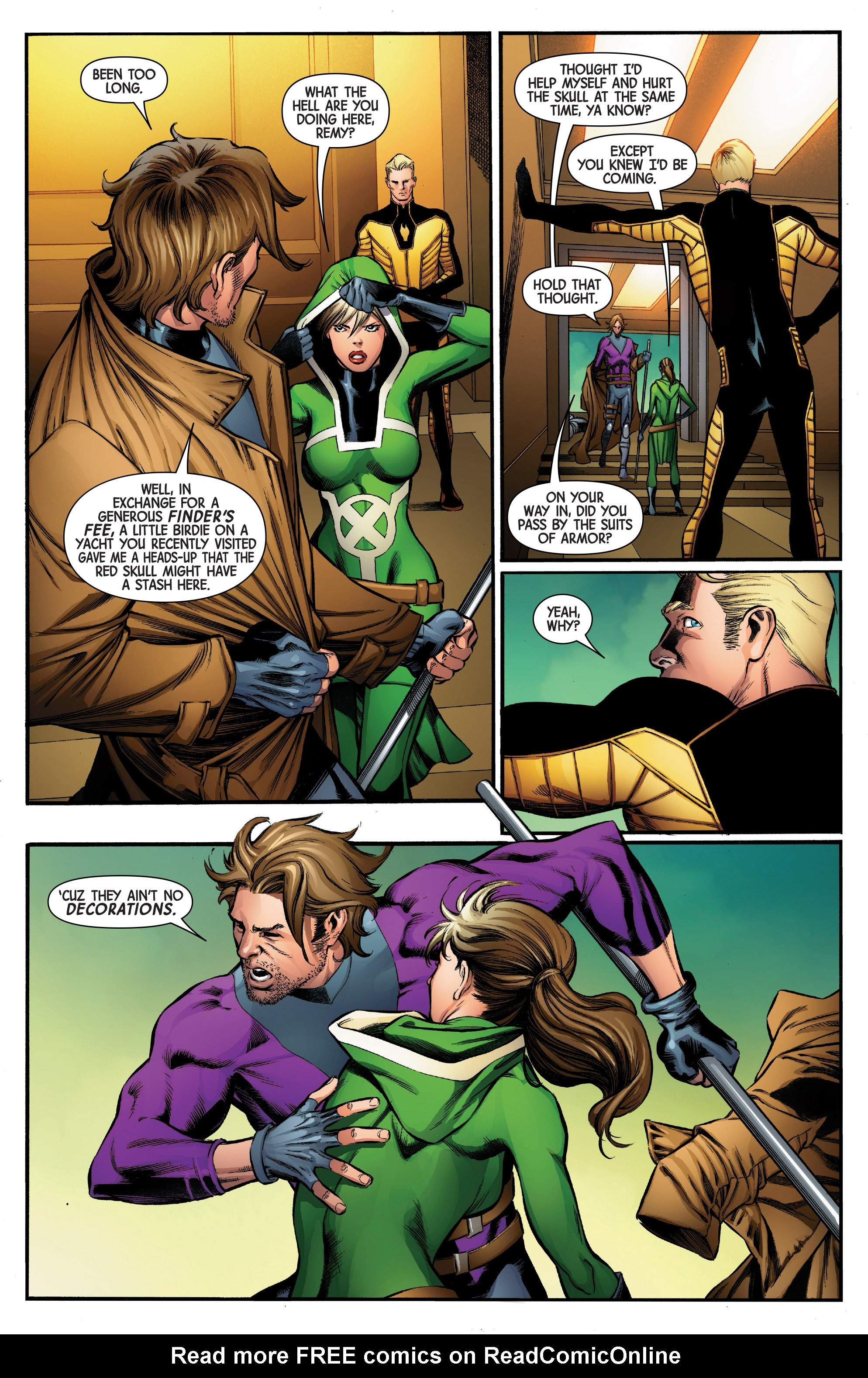 Read online Uncanny Avengers [II] comic -  Issue #5 - 13