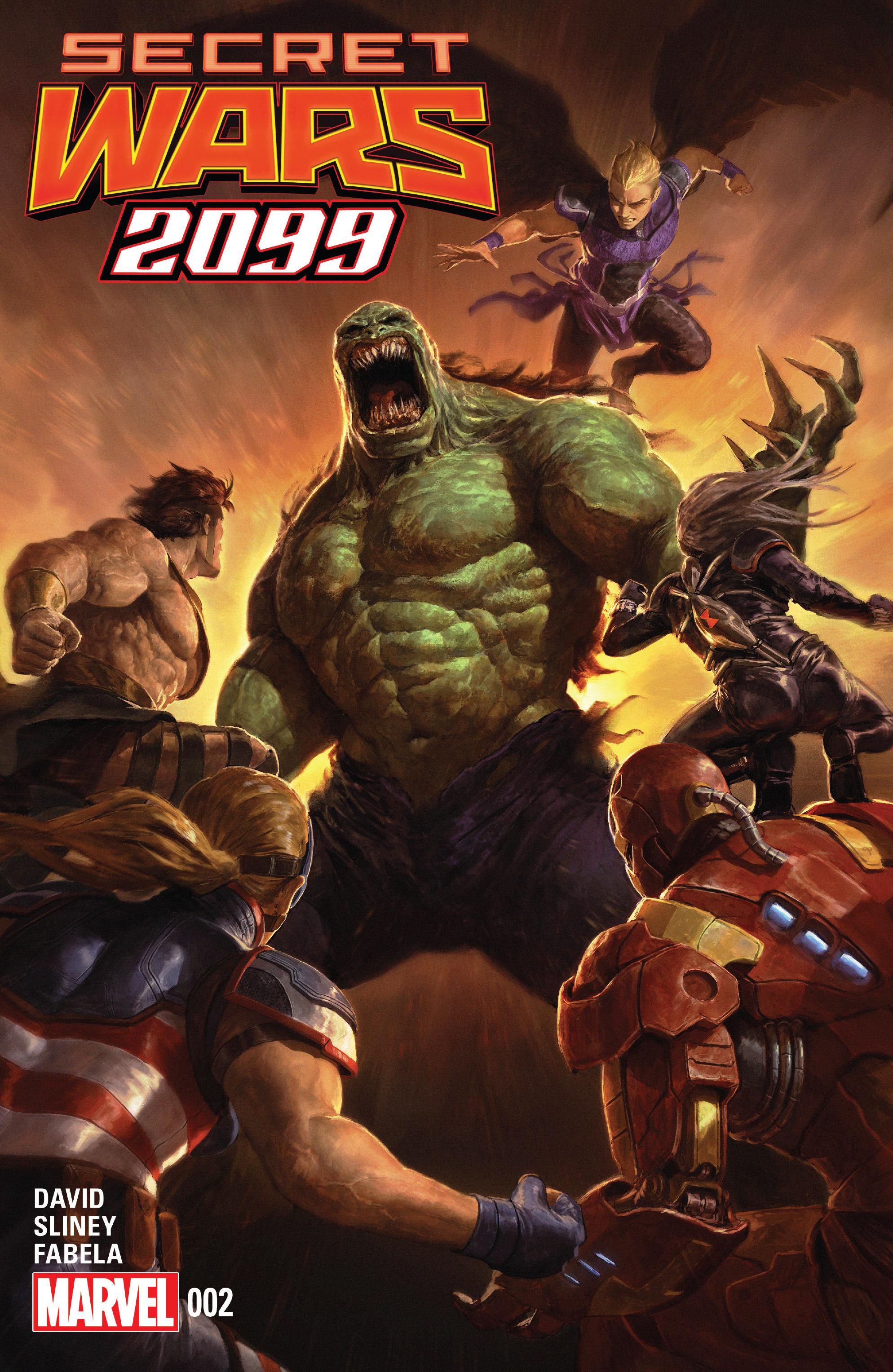 Read online Secret Wars 2099 comic -  Issue #2 - 1