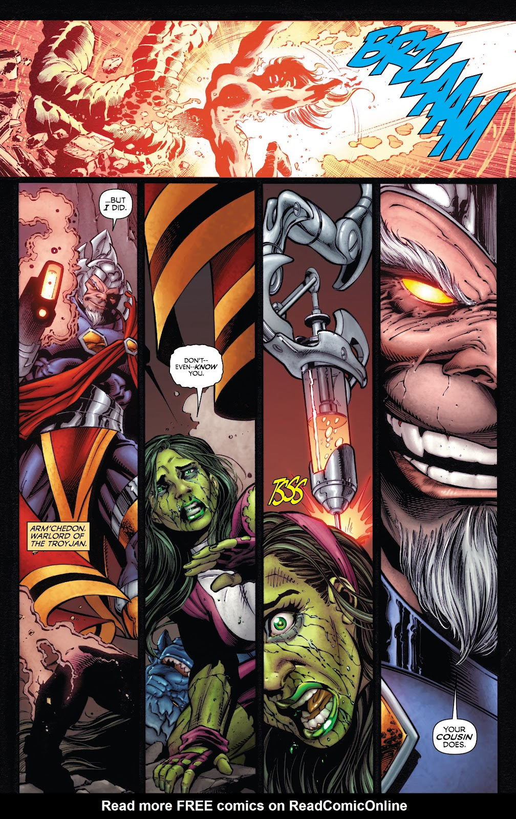 Read online Incredible Hulks (2010) comic -  Issue # _TPB Heart of the Monster - 50