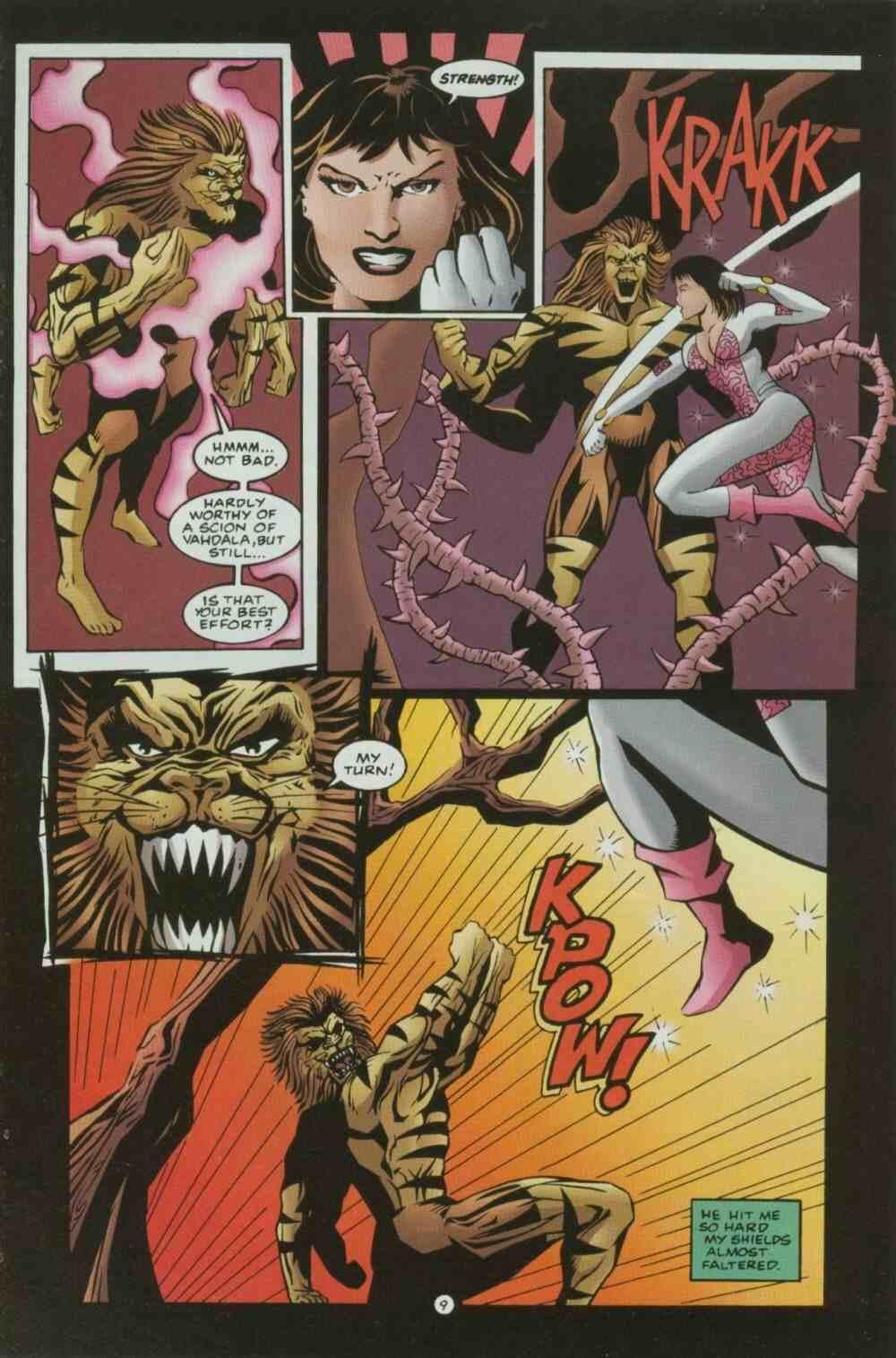 Read online Ultraverse Premiere comic -  Issue #7 - 21