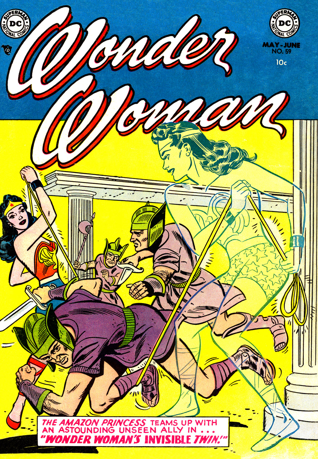Read online Wonder Woman (1942) comic -  Issue #59 - 1