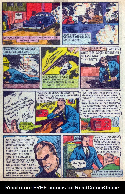 Read online Amazing Man Comics comic -  Issue #15 - 3