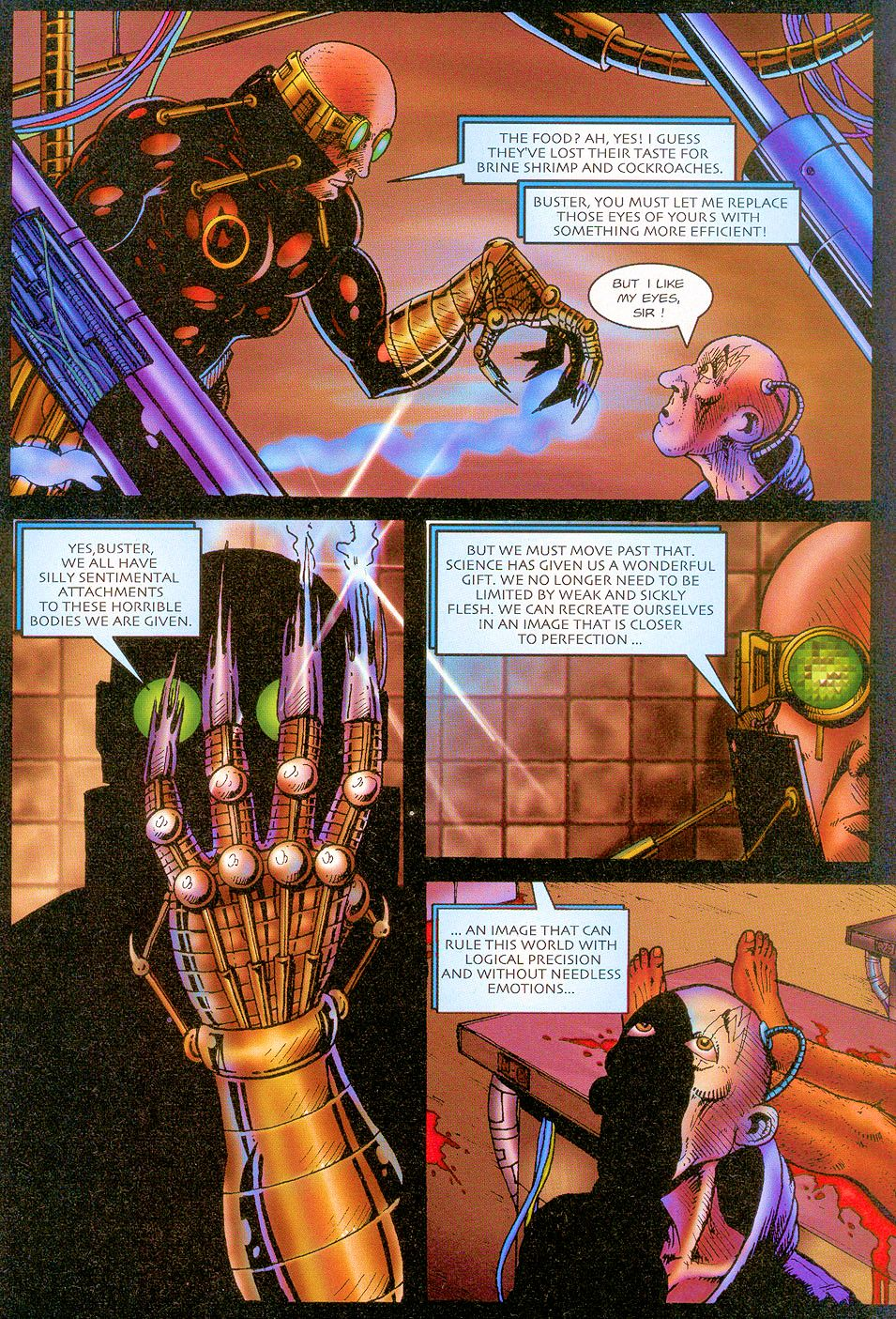 Read online Sisters of Mercy comic -  Issue #1 - 21