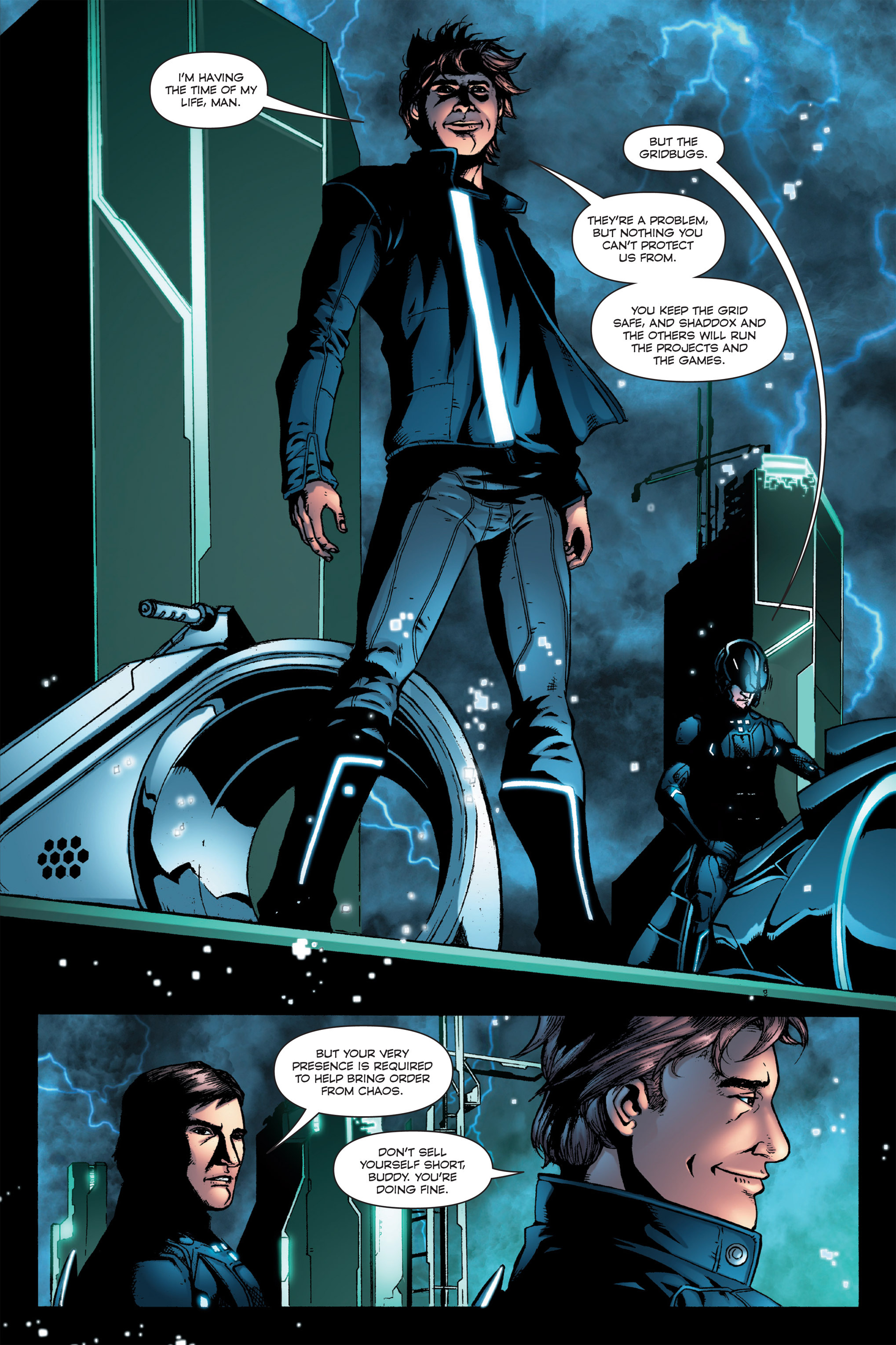 Read online TRON: Betrayal comic -  Issue # TPB - 19