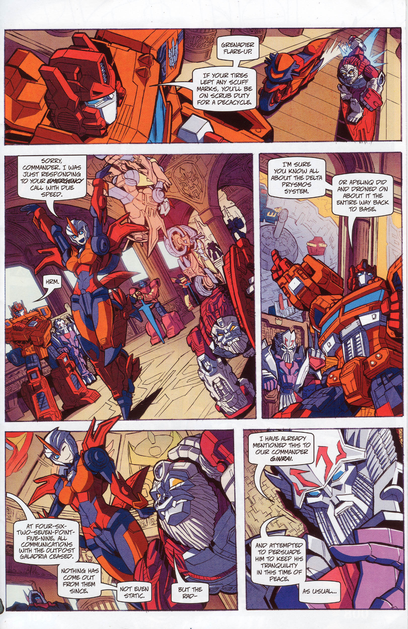 Read online Transformers: Timelines comic -  Issue #10 - 10
