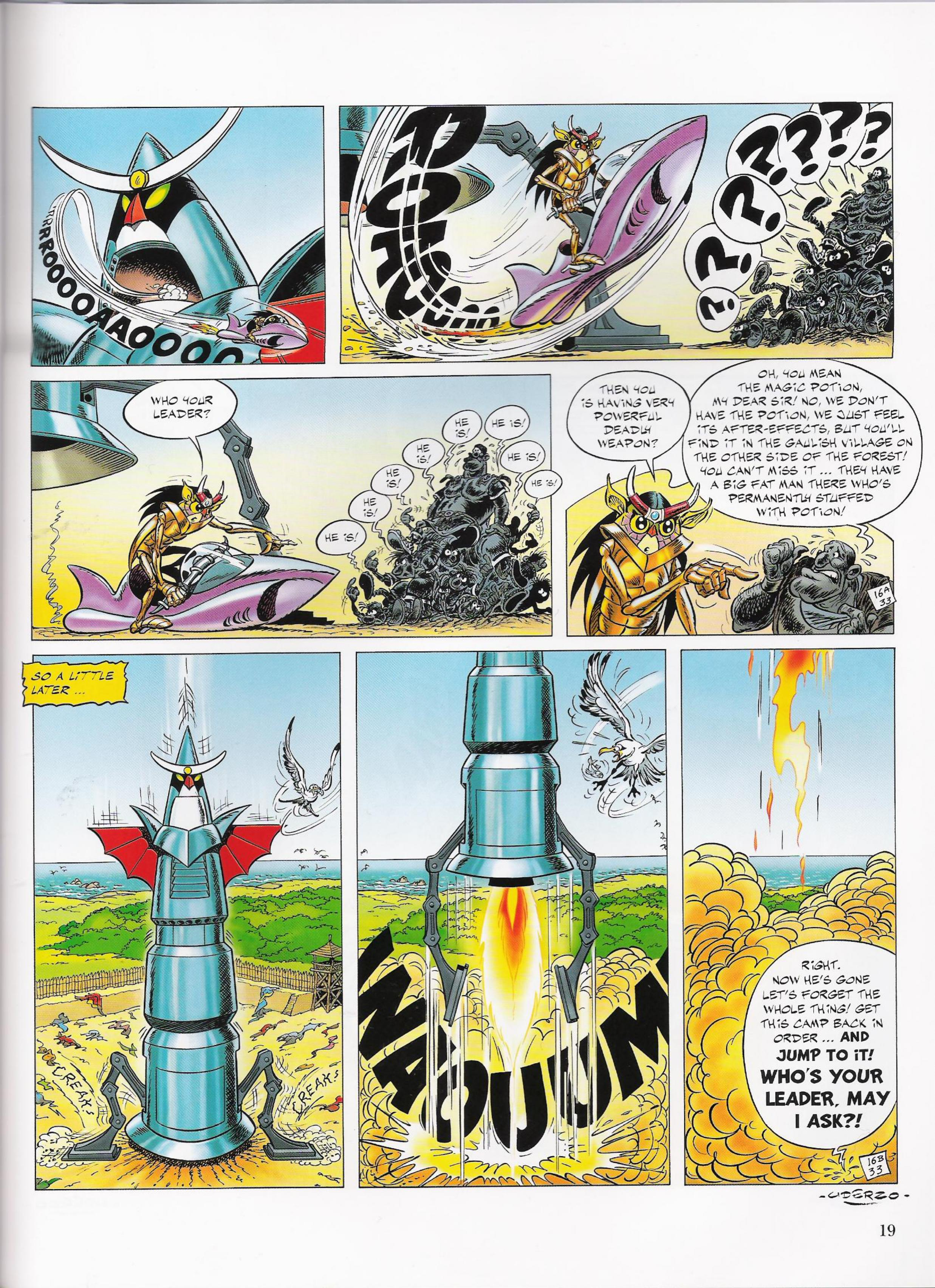 Read online Asterix comic -  Issue #33 - 19