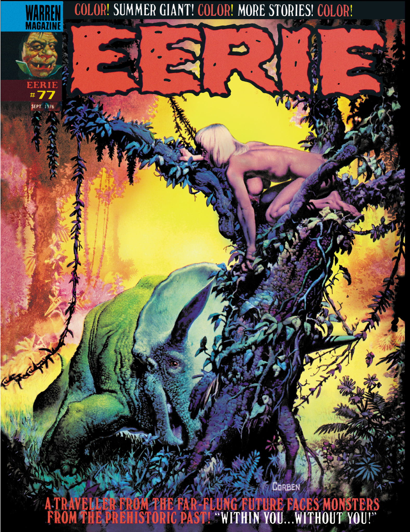 Read online Eerie Archives comic -  Issue # TPB 16 - 116