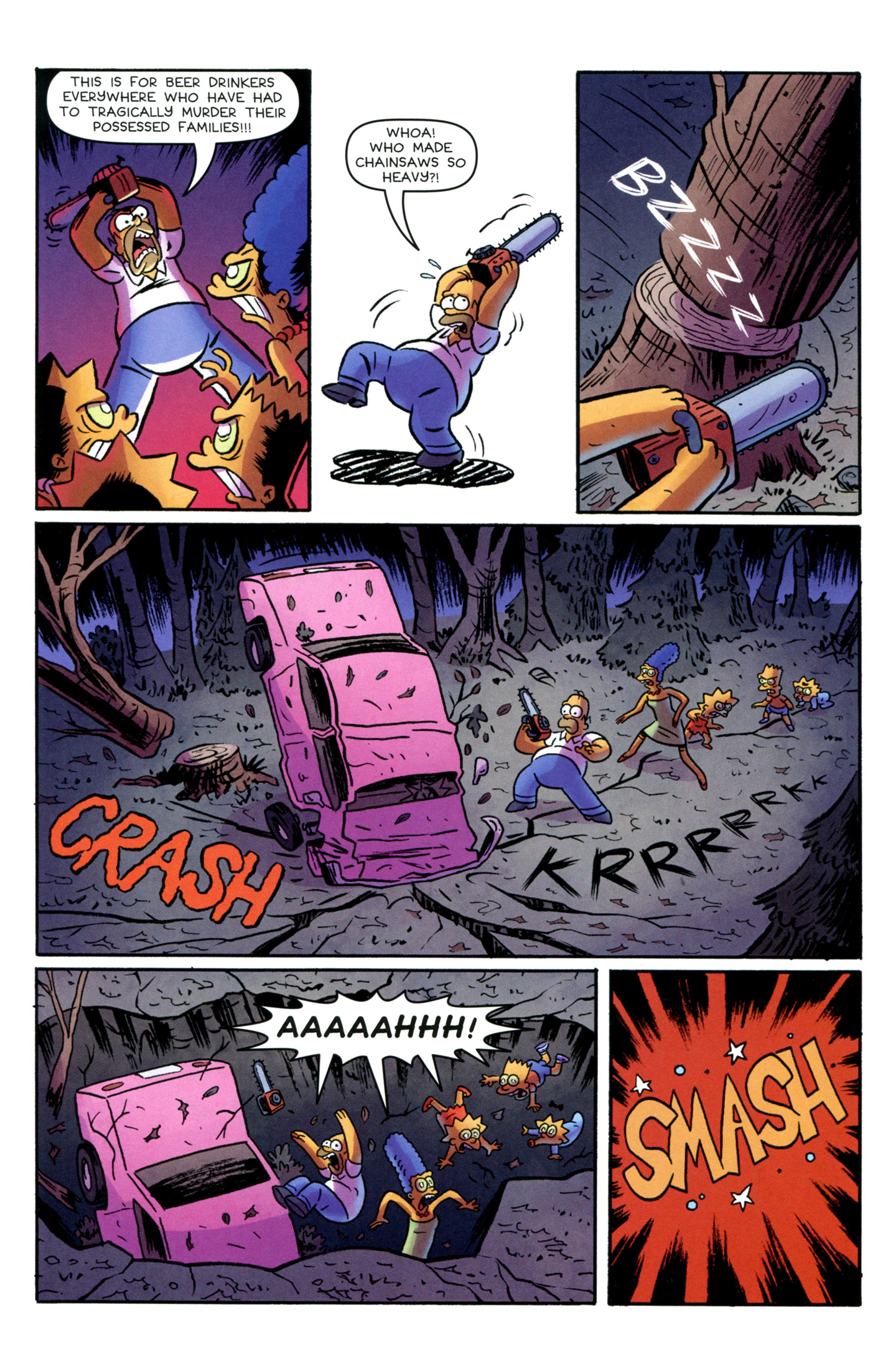 Read online Treehouse of Horror comic -  Issue #18 - 14