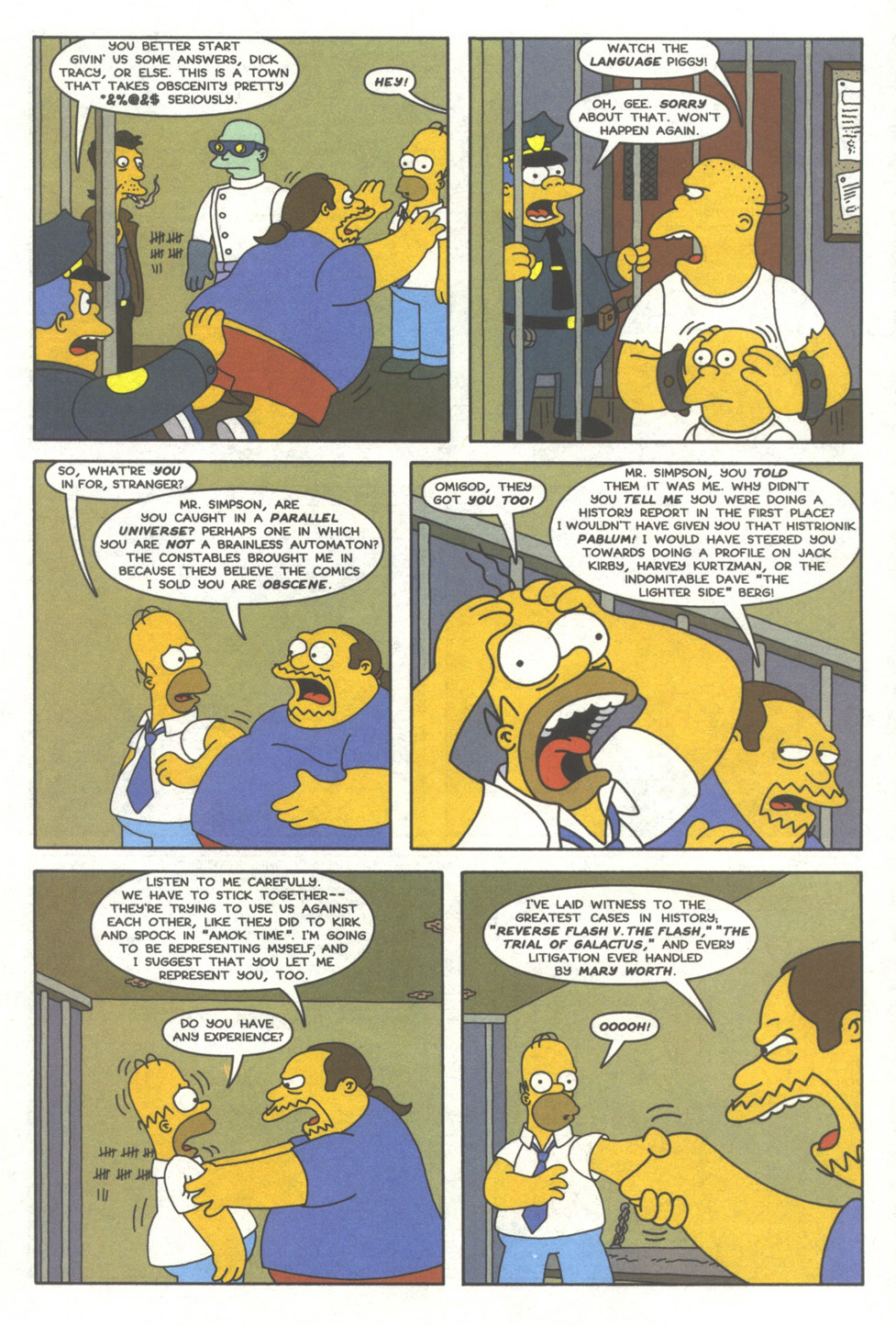 Read online Simpsons Comics comic -  Issue #39 - 12