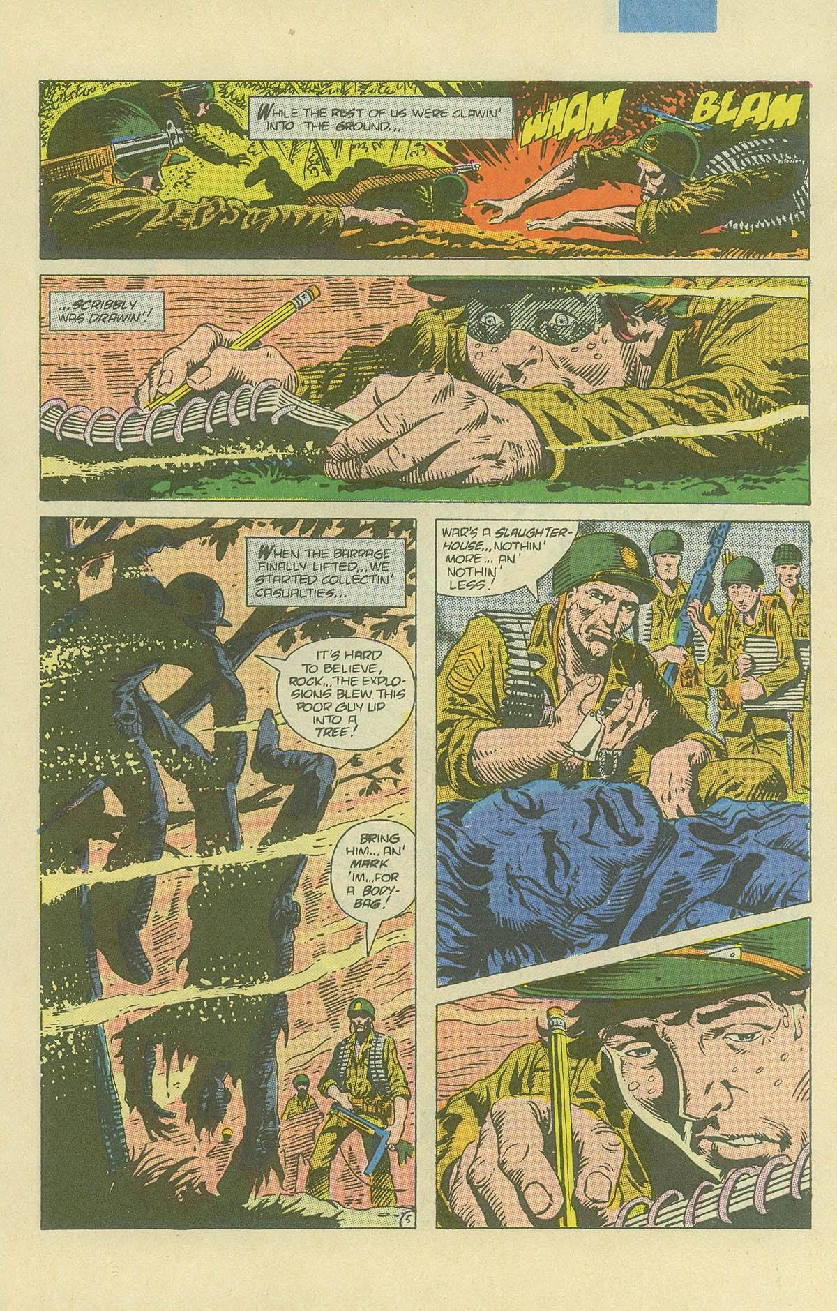 Read online Sgt. Rock comic -  Issue #408 - 8