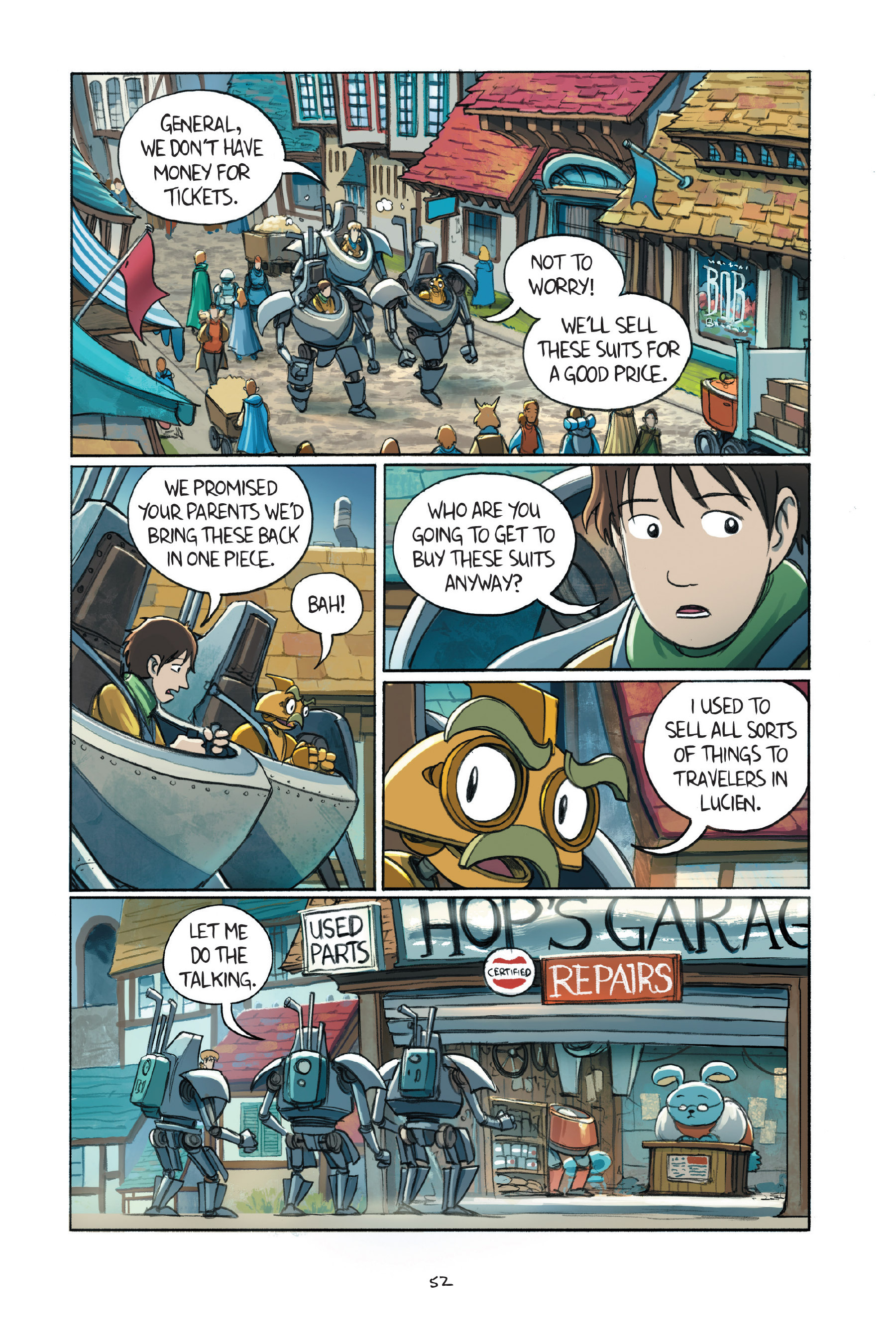 Read online Amulet comic -  Issue #7 - 54