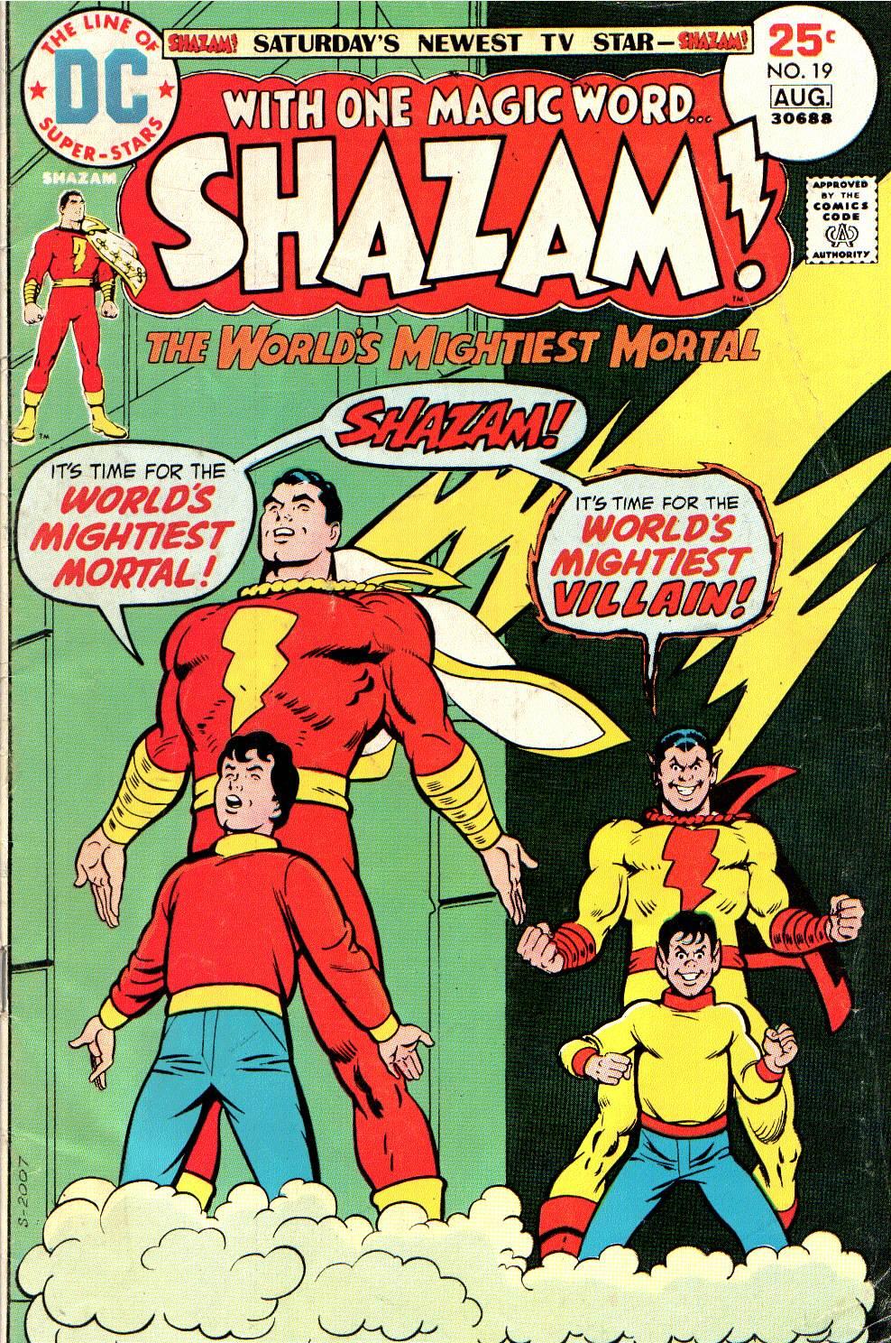 Read online Shazam! (1973) comic -  Issue #19 - 1
