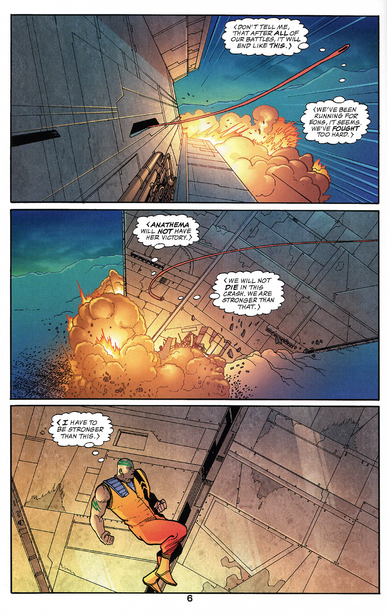 Read online JLA/Haven: Arrival comic -  Issue # Full - 6