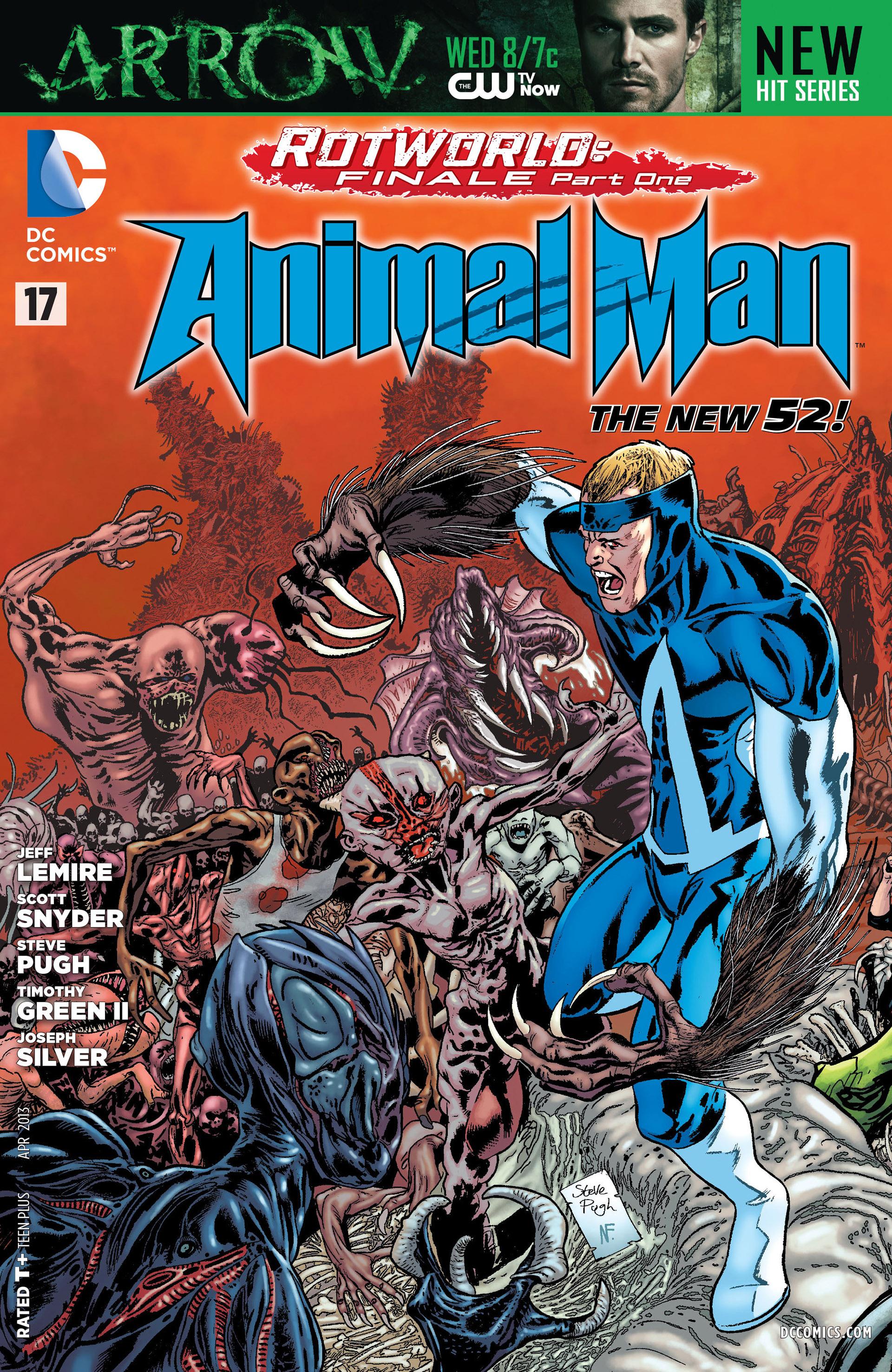 Animal Man (2011) 17 Page 1