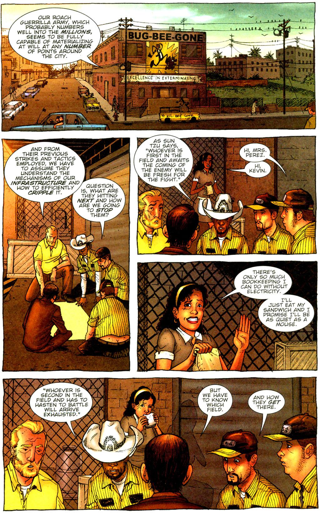 Read online The Exterminators comic -  Issue #9 - 16
