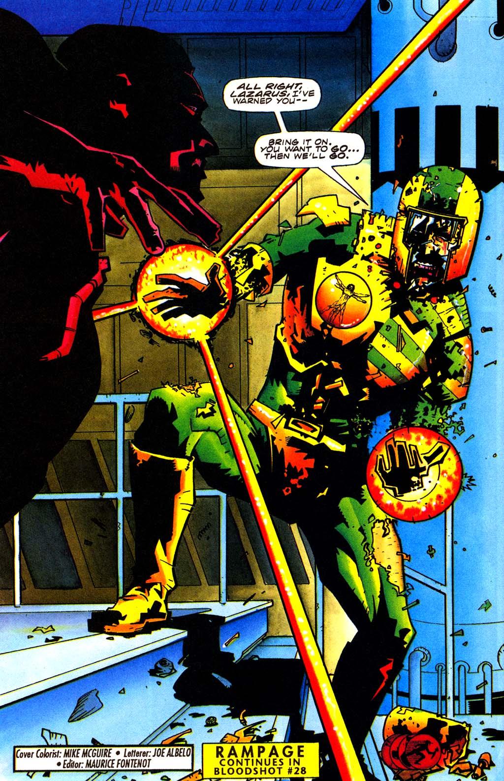 Read online Secret Weapons comic -  Issue #20 - 22