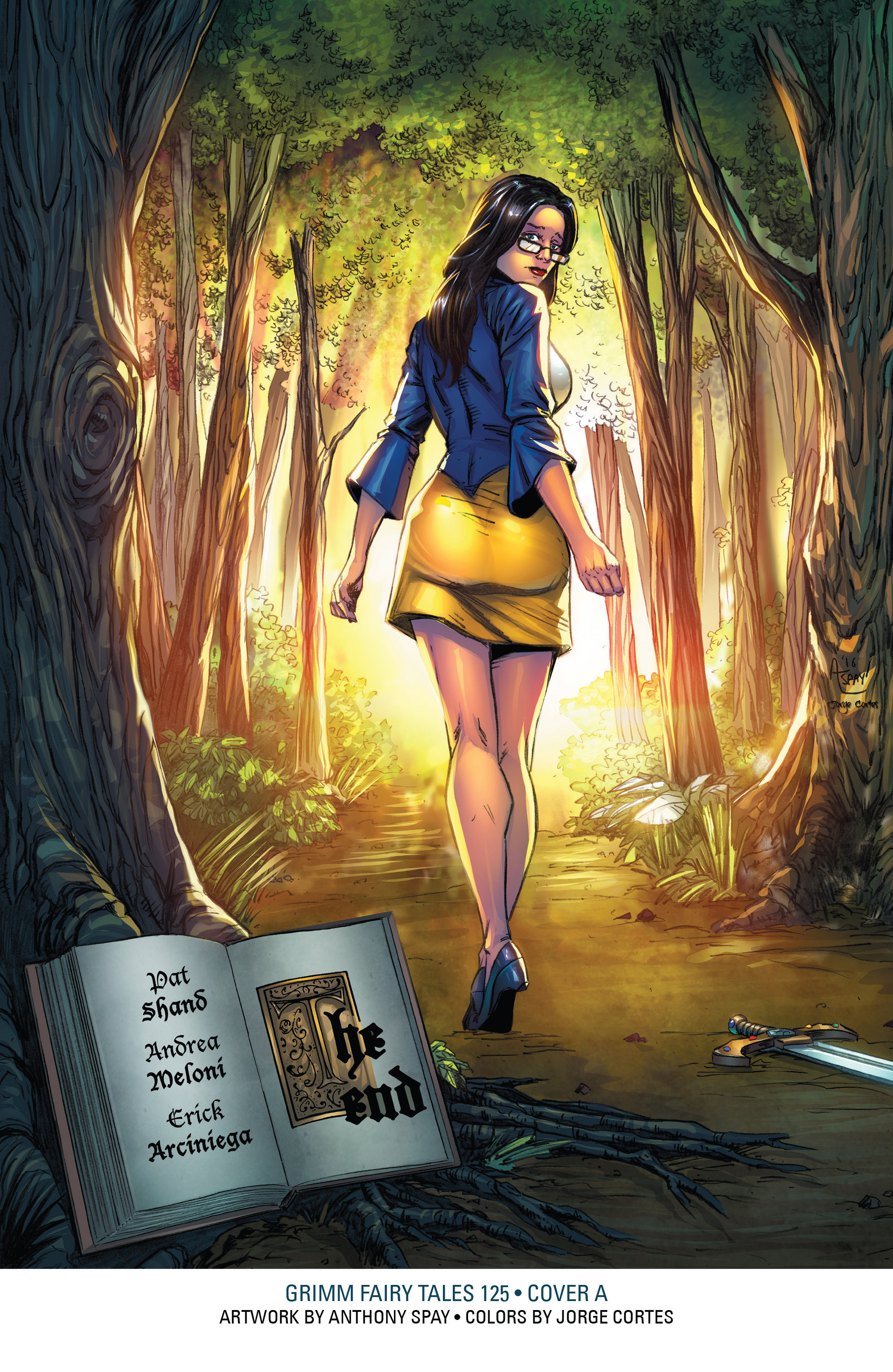 Read online Grimm Fairy Tales: Arcane Acre comic -  Issue # TPB 4 - 218