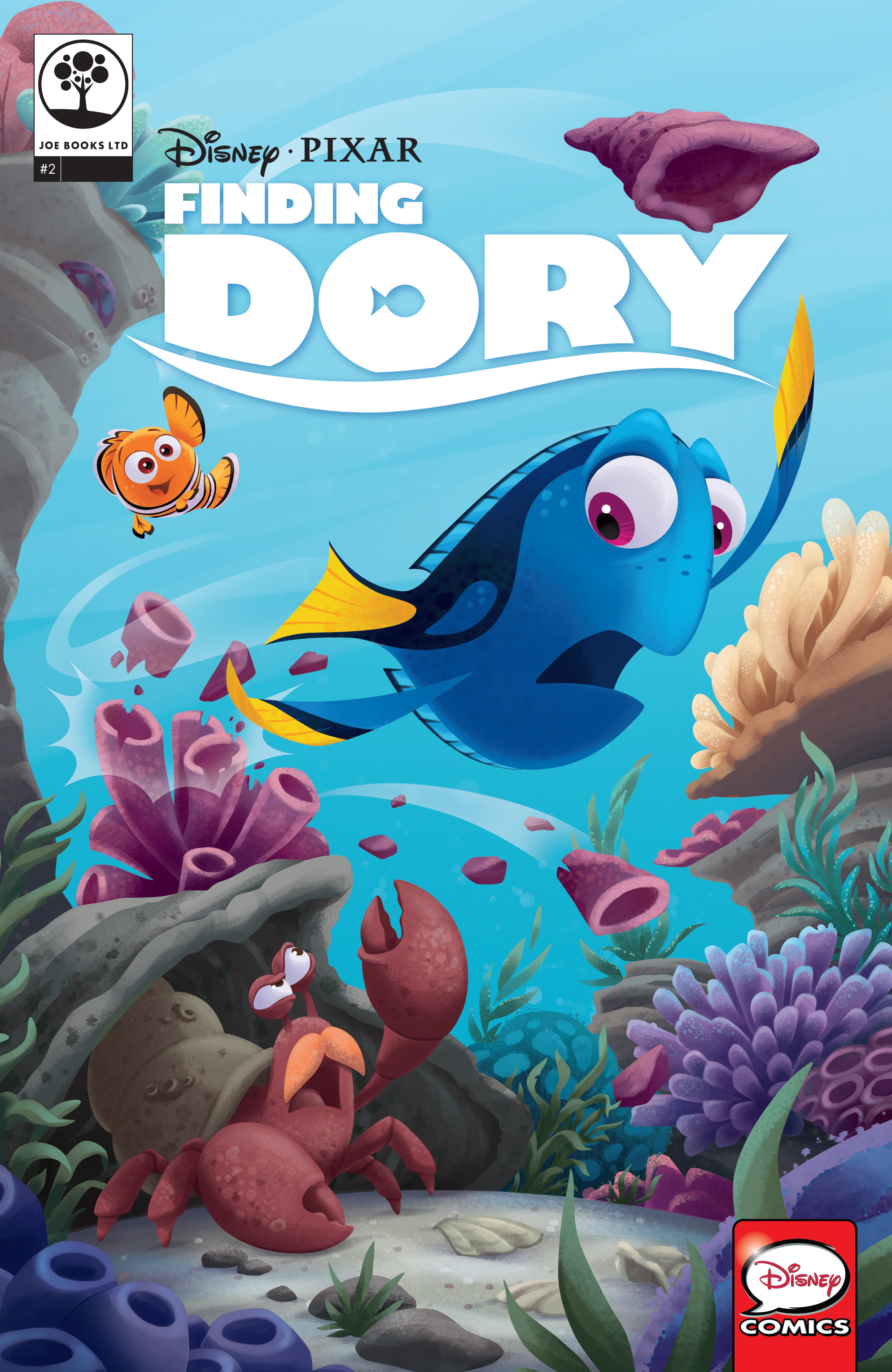 Read online Disney Pixar Finding Dory comic -  Issue #2 - 1