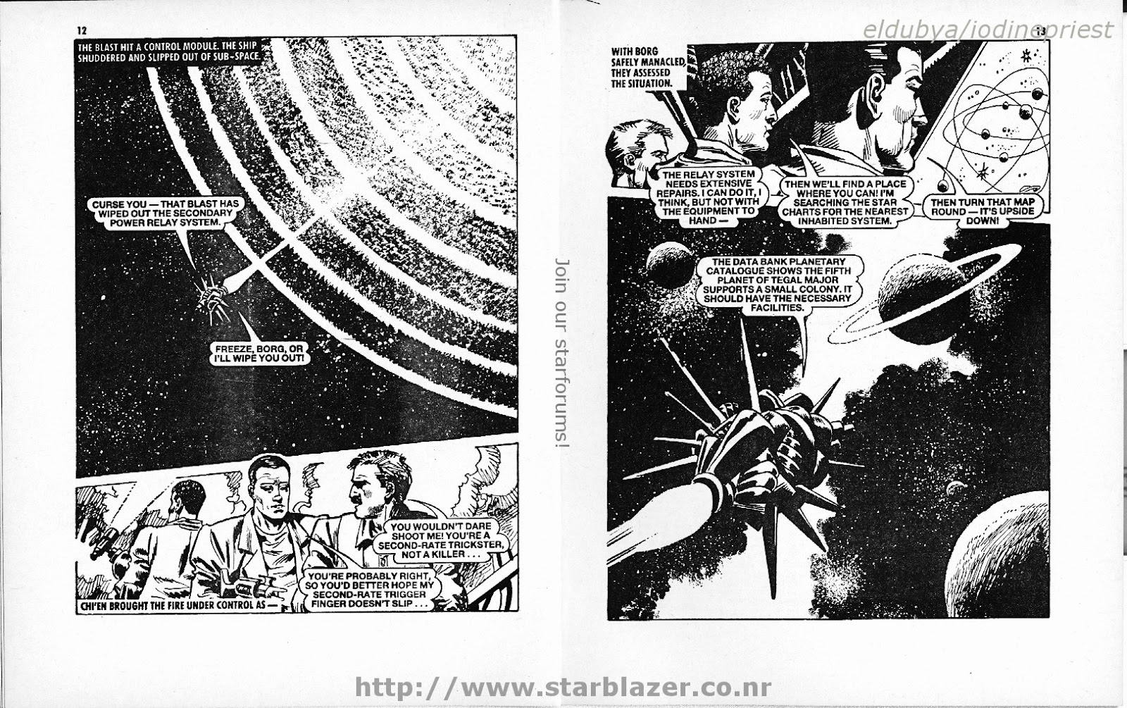 Starblazer issue 208 - Page 8