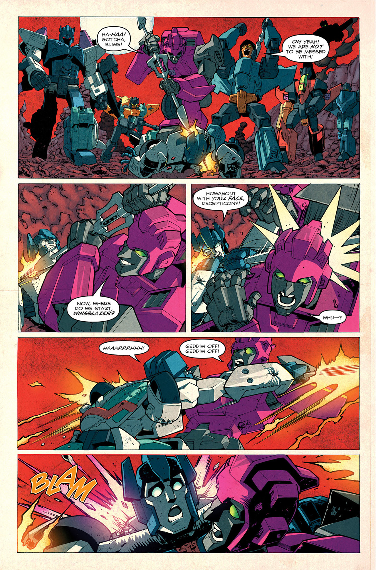 Read online Transformers: Last Stand of The Wreckers comic -  Issue #1 - 17