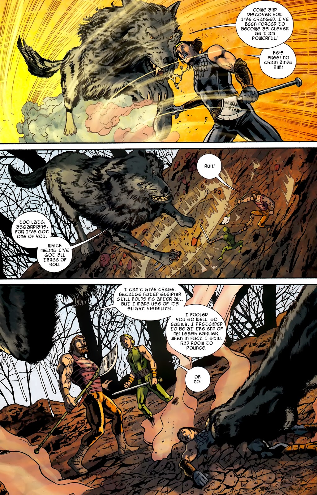 Warriors Three Issue #2 #2 - English 14