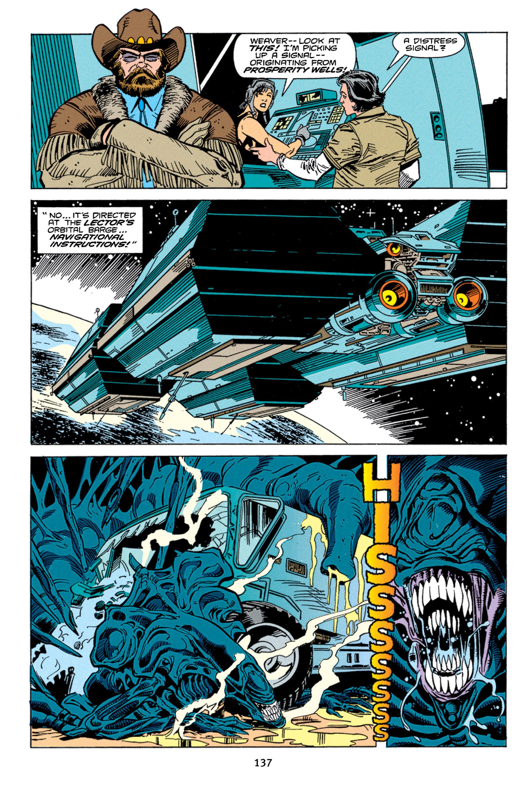 Read online Aliens vs. Predator Omnibus comic -  Issue # _TPB 1 Part 2 - 36