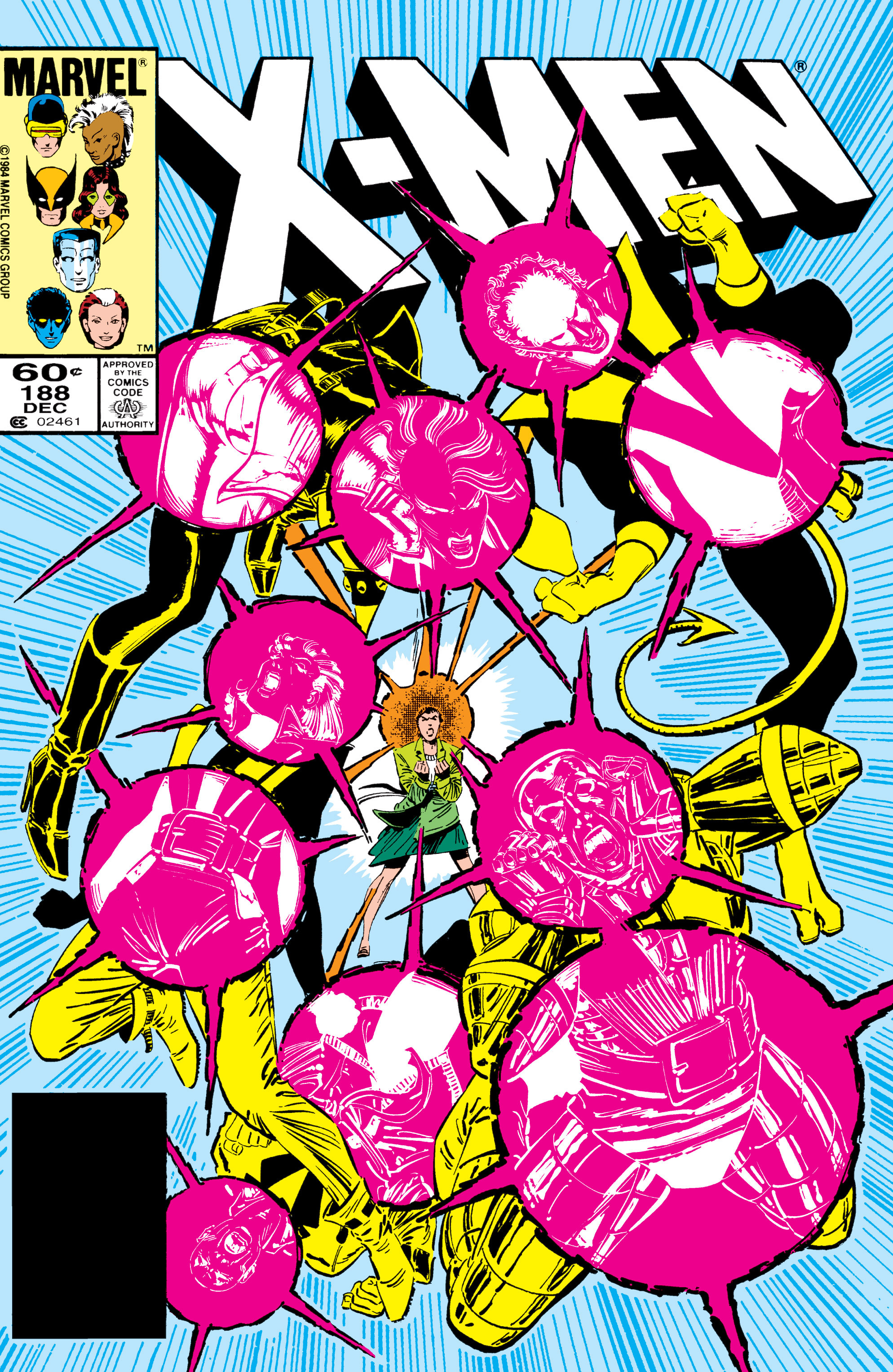 Read online Uncanny X-Men (1963) comic -  Issue #188 - 1