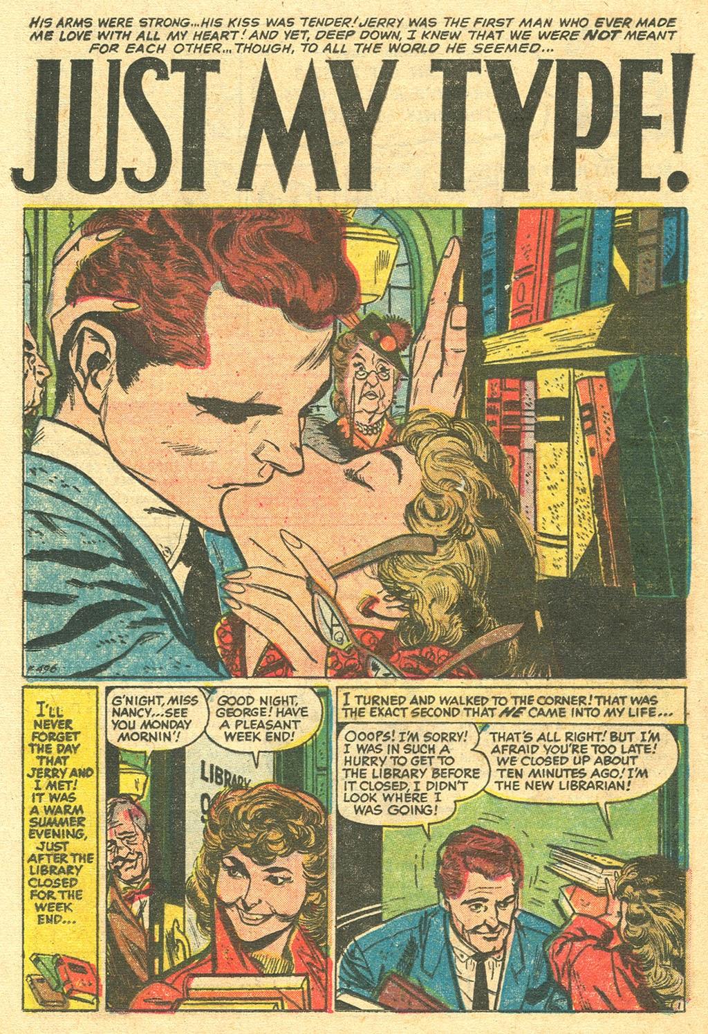 Love Romances (1949) issue 48 - Page 20