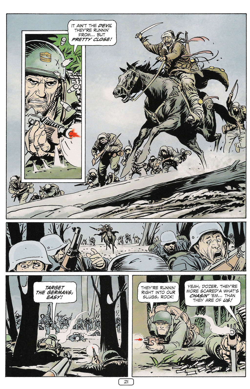 Read online Sgt. Rock: The Prophecy comic -  Issue #2 - 22