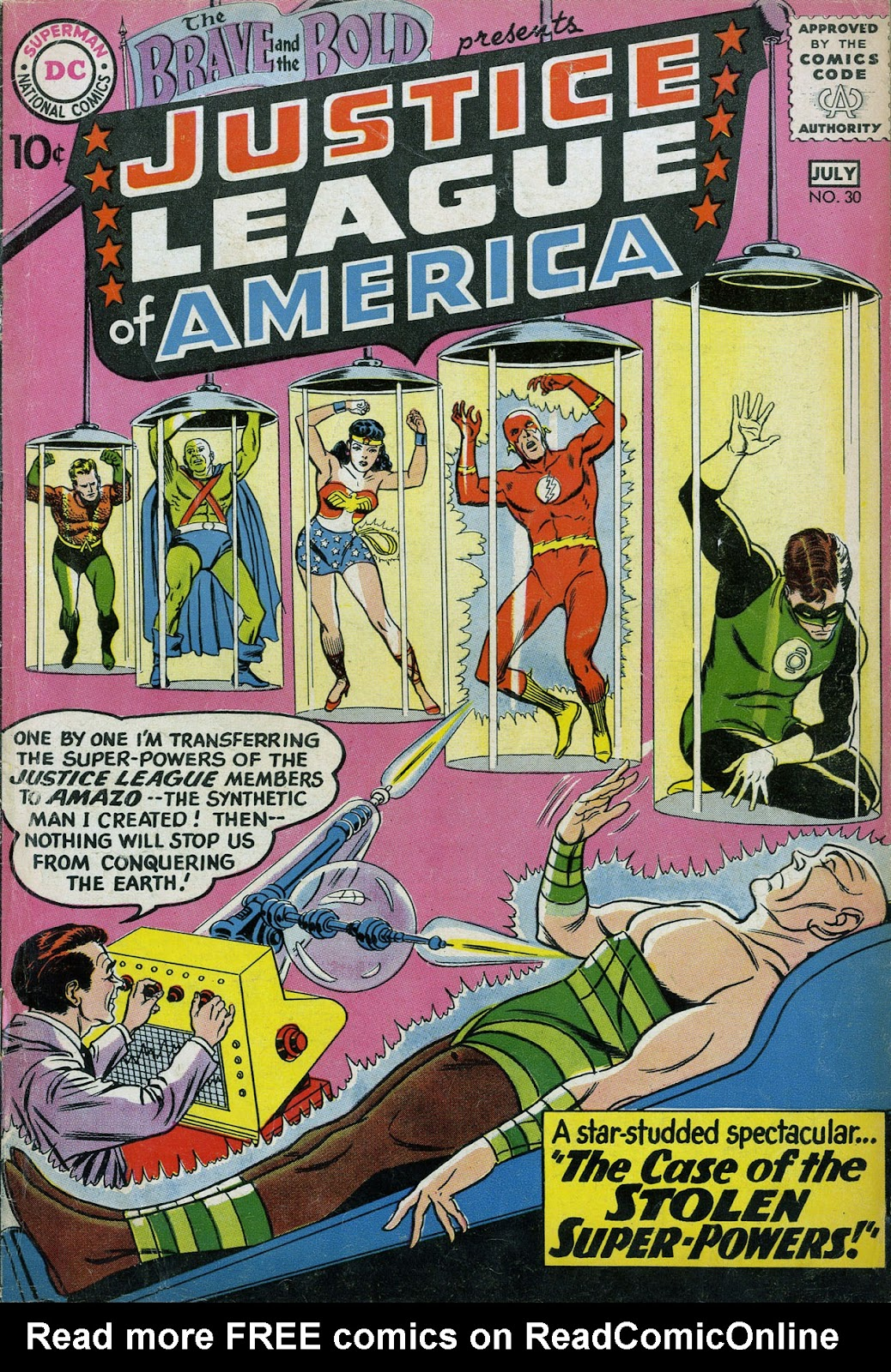 The Brave and the Bold (1955) issue 30 - Page 1