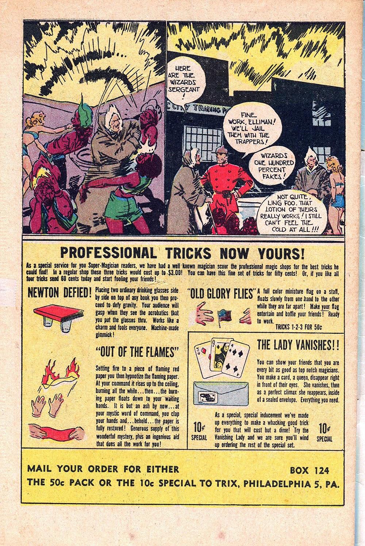Read online Super-Magician Comics comic -  Issue #55 - 50