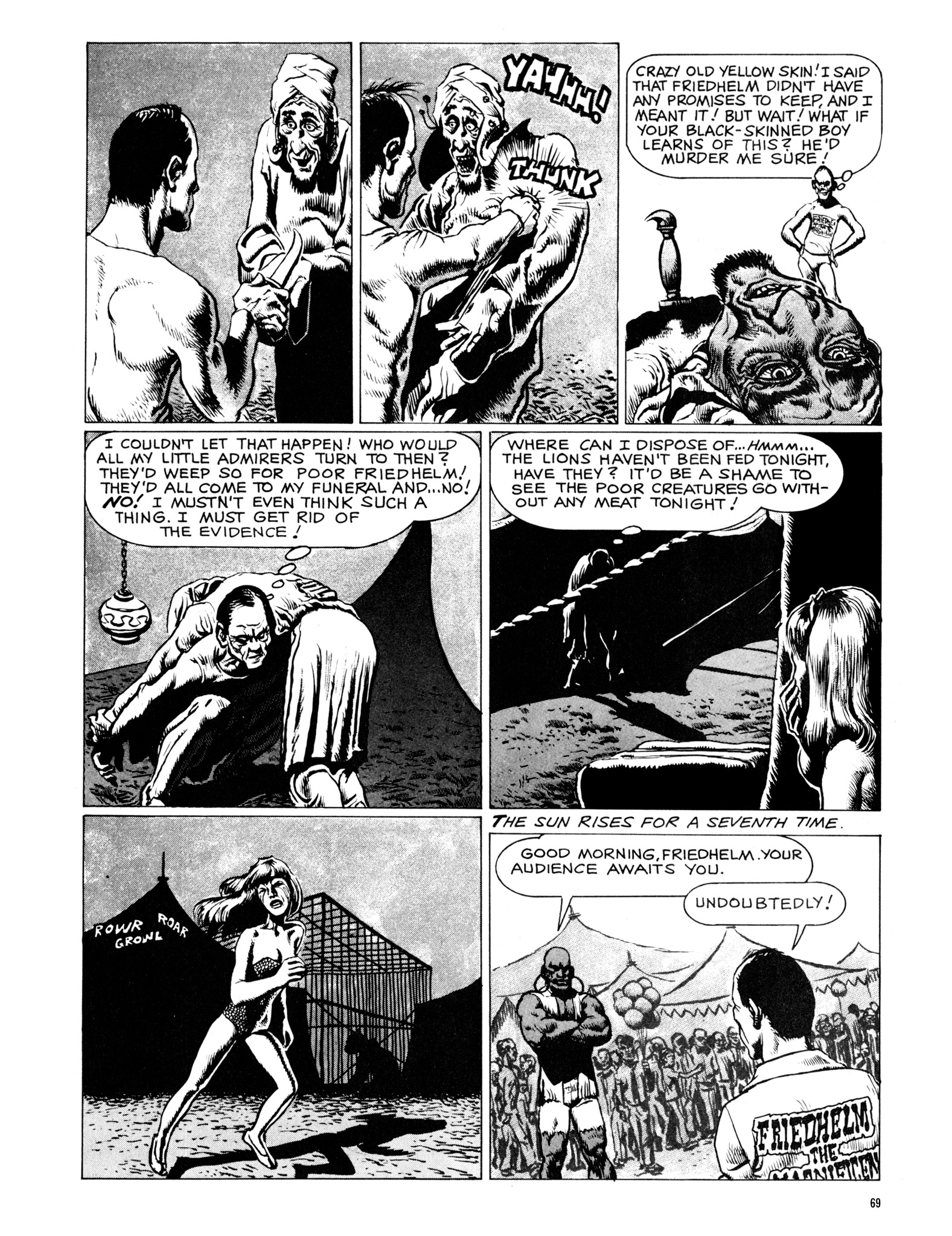 Read online Eerie Archives comic -  Issue # TPB 18 - 70