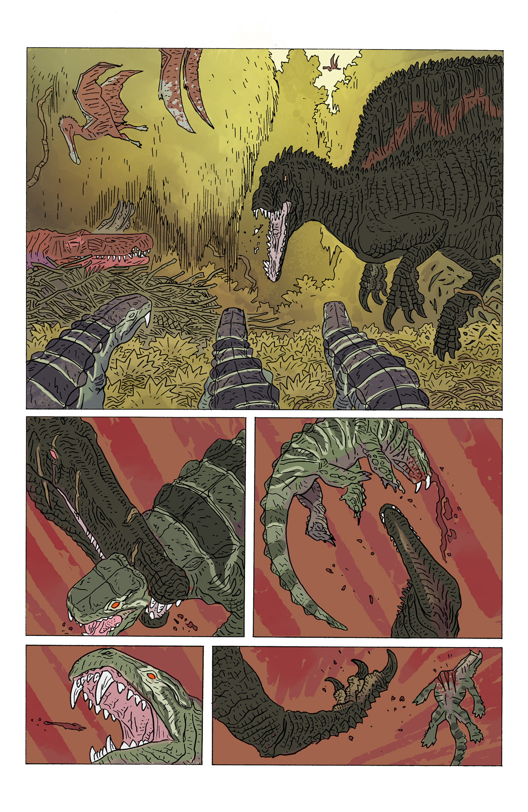 Age of Reptiles: Ancient Egyptians 3 Page 21