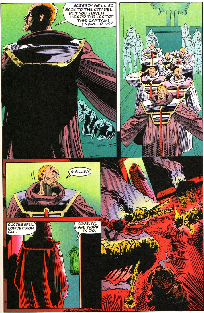 Read online Cyberspace 3000 comic -  Issue #1 - 19