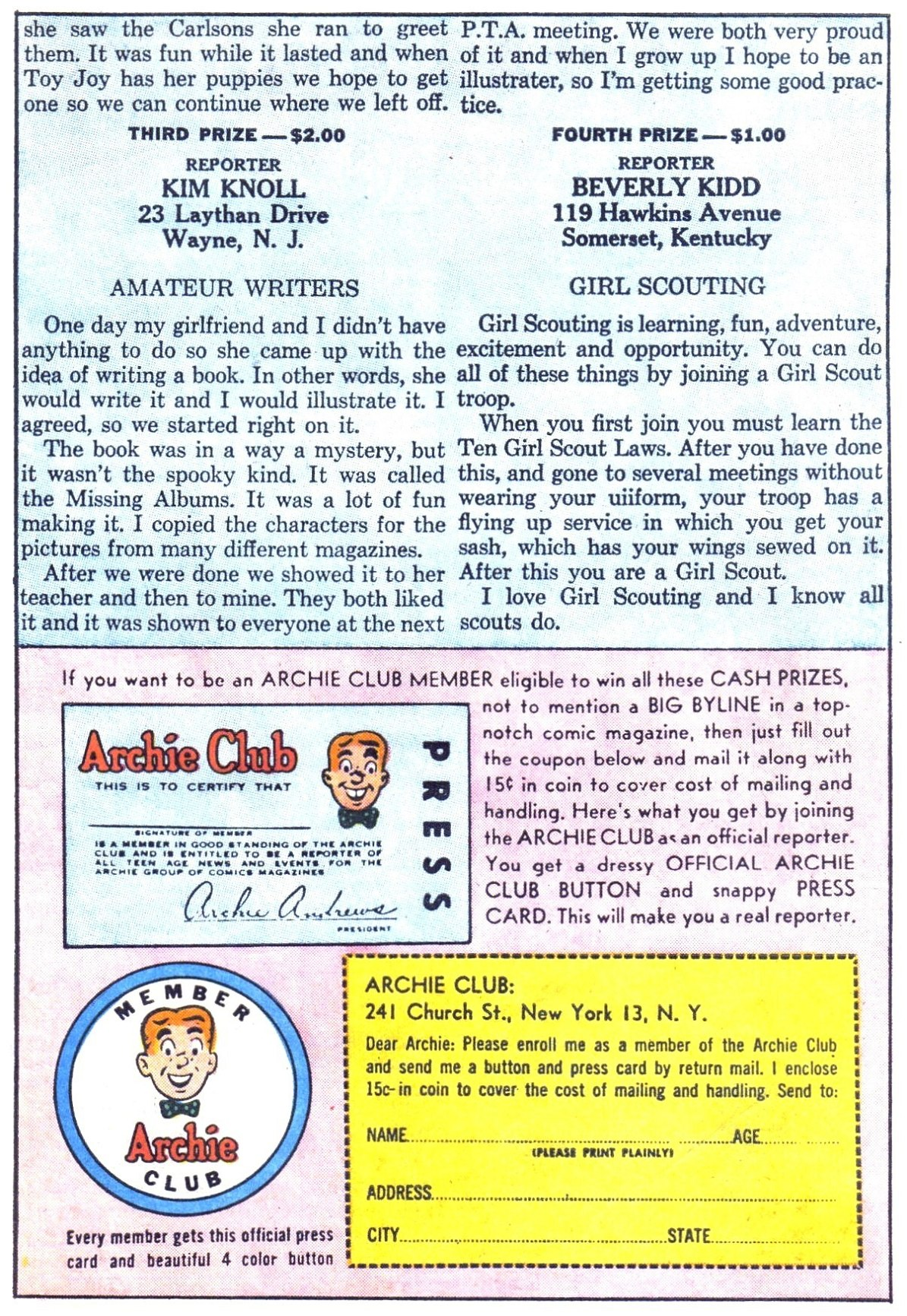 Read online Archie (1960) comic -  Issue #154 - 11