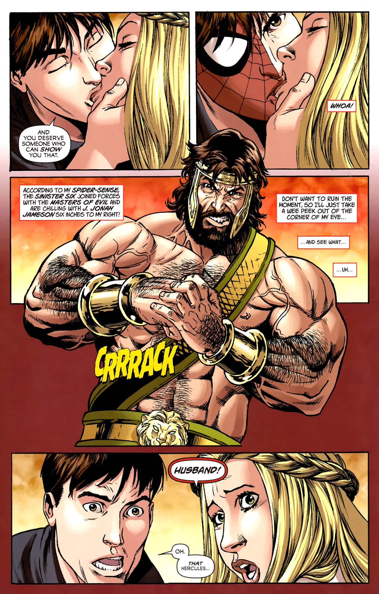 Read online Assault on New Olympus Prologue comic -  Issue #Assault on New Olympus Prologue Full - 15