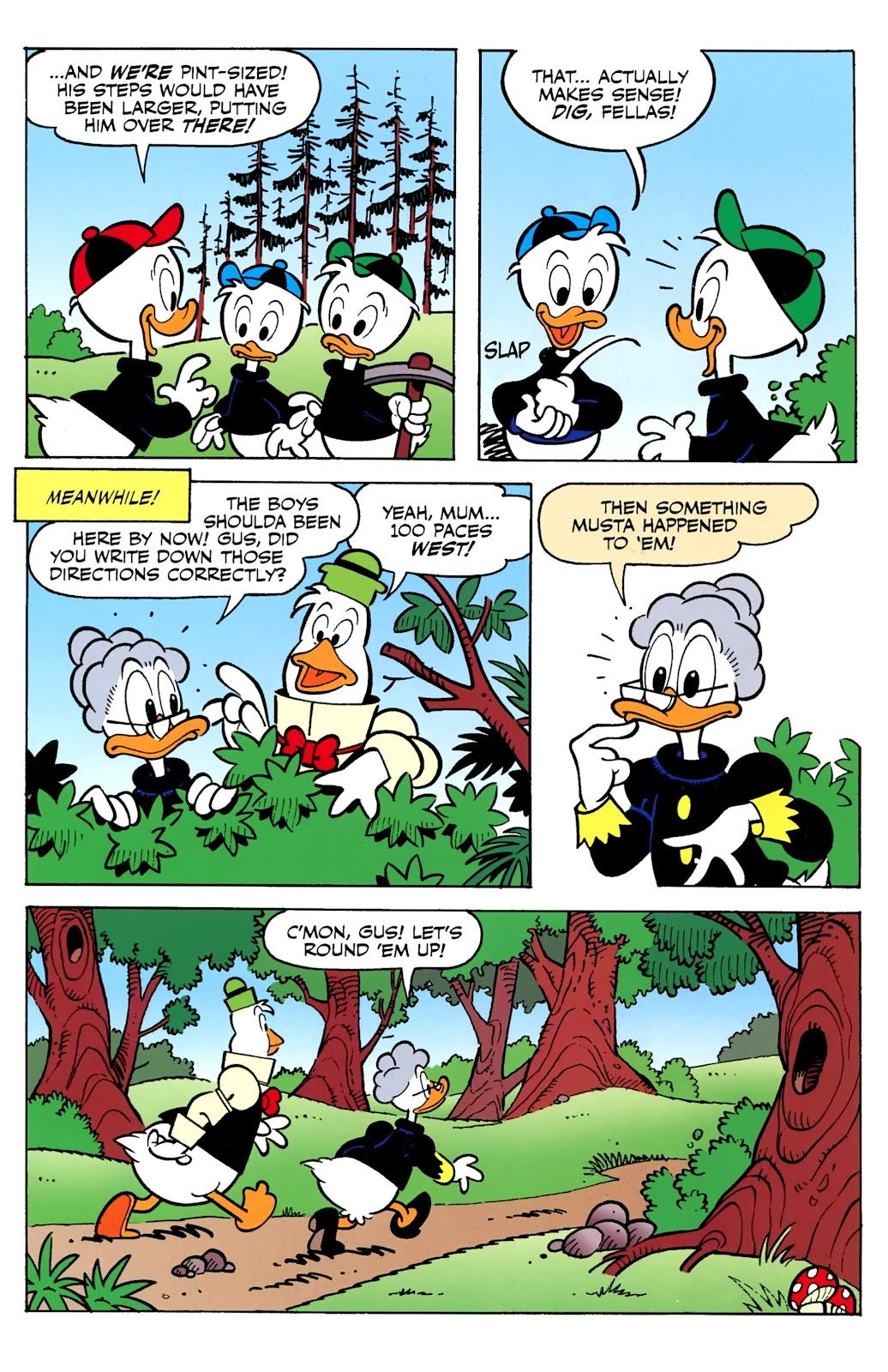 Walt Disney's Comics and Stories issue 730 - Page 34