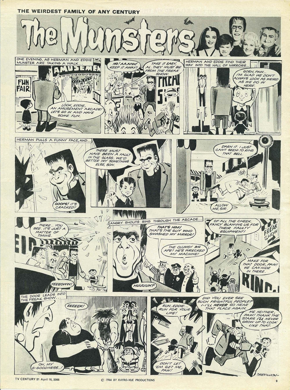Read online TV Century 21 (TV 21) comic -  Issue #65 - 9