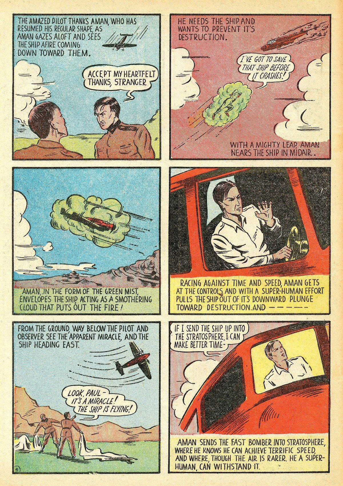 Read online Amazing Man Comics comic -  Issue #10 - 7