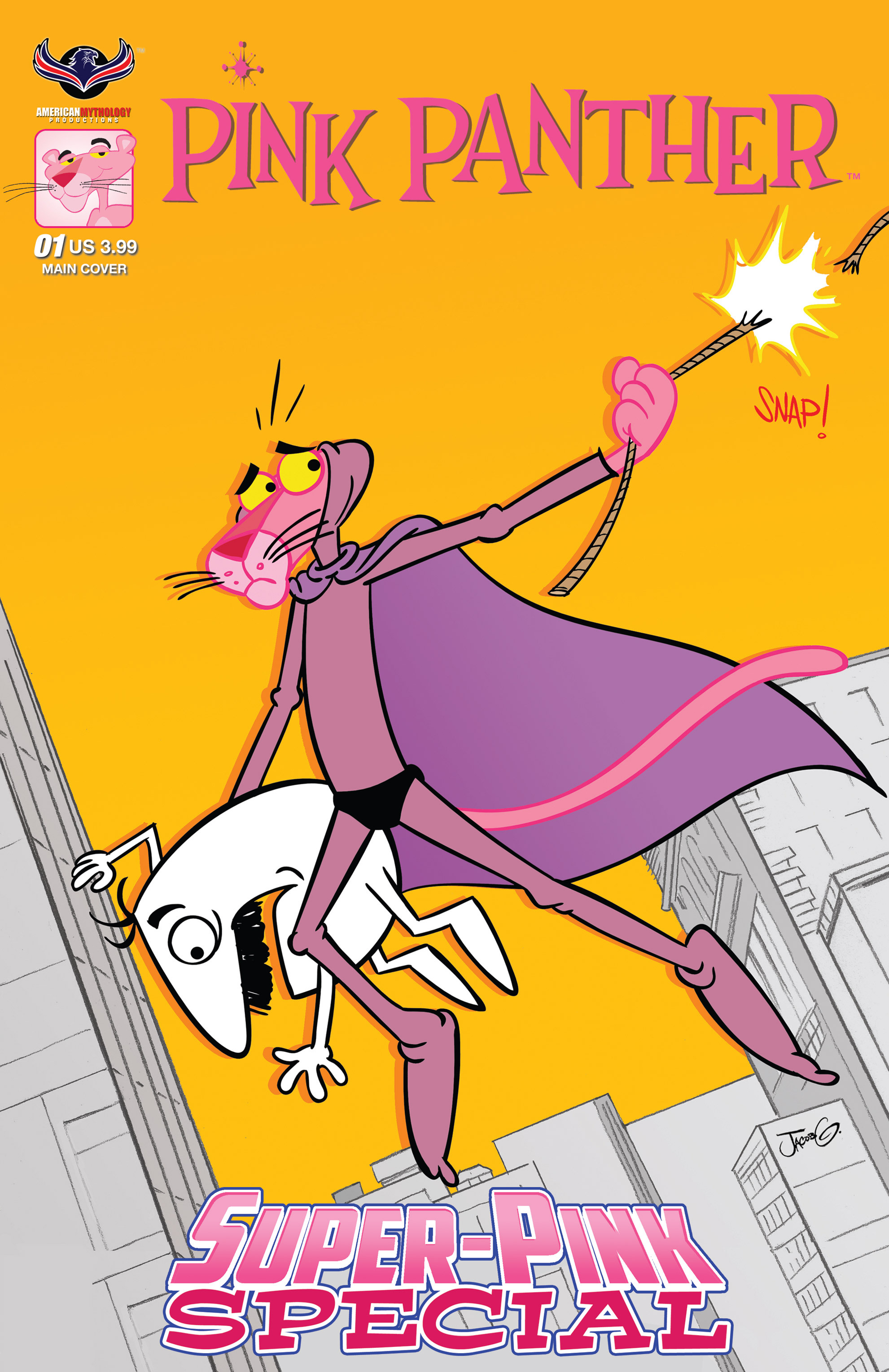 Read online Pink Panther Super-Pink Special comic -  Issue # Full - 1