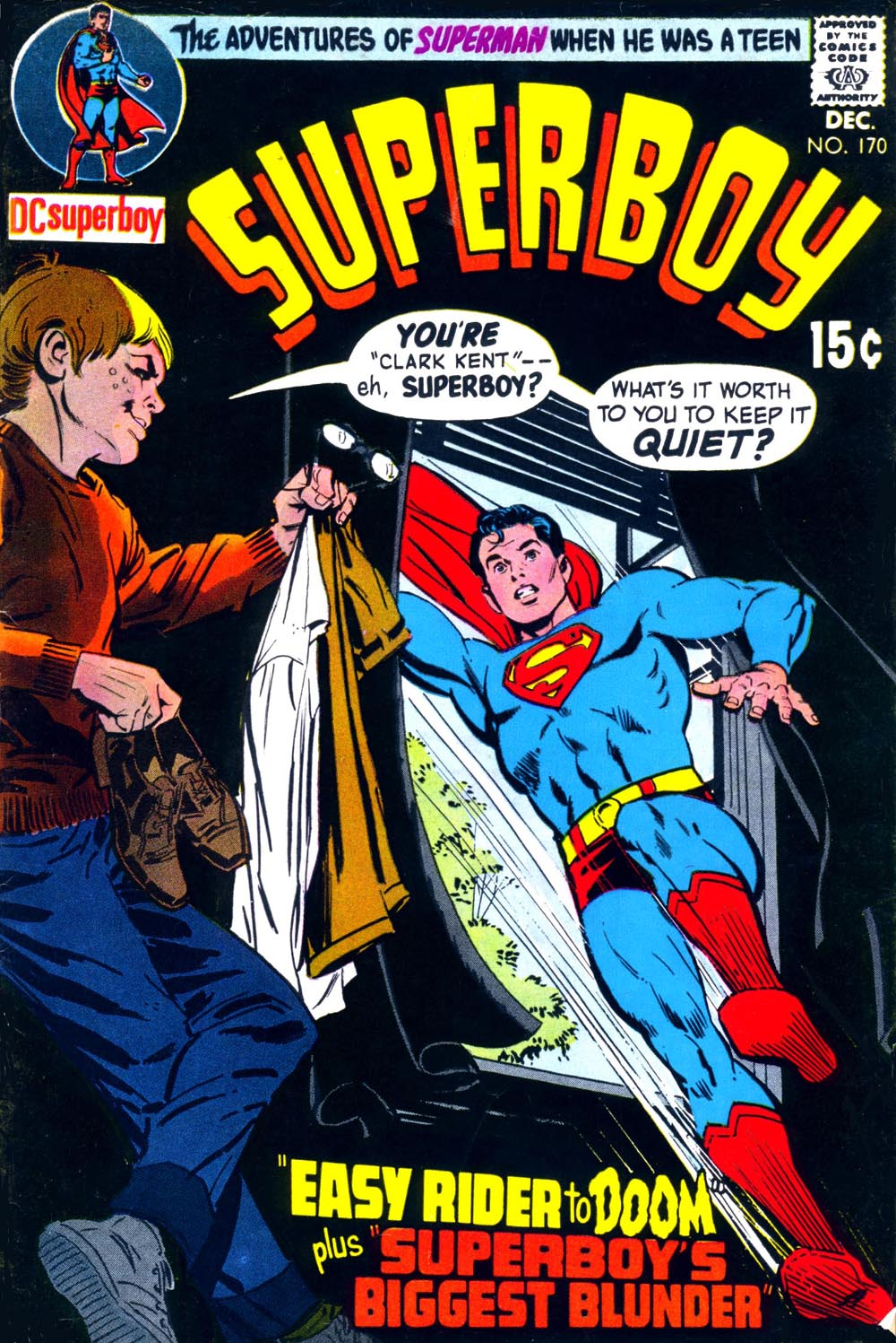 Superboy (1949) issue 170 - Page 1