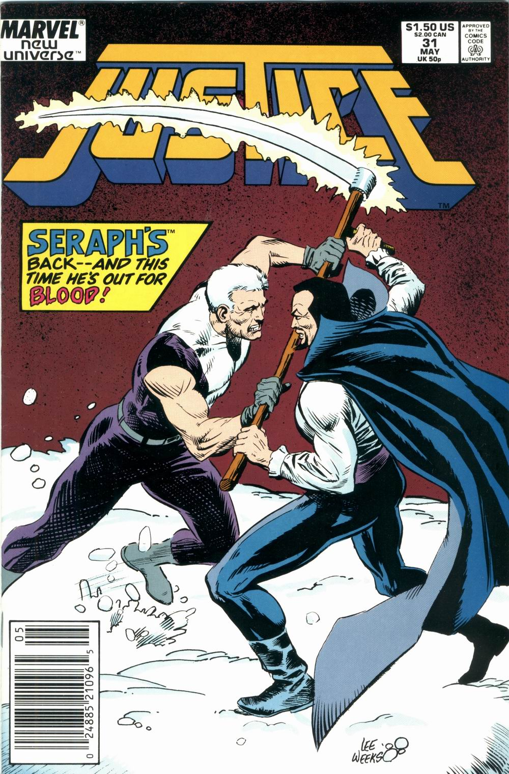Read online Justice (1986) comic -  Issue #31 - 1