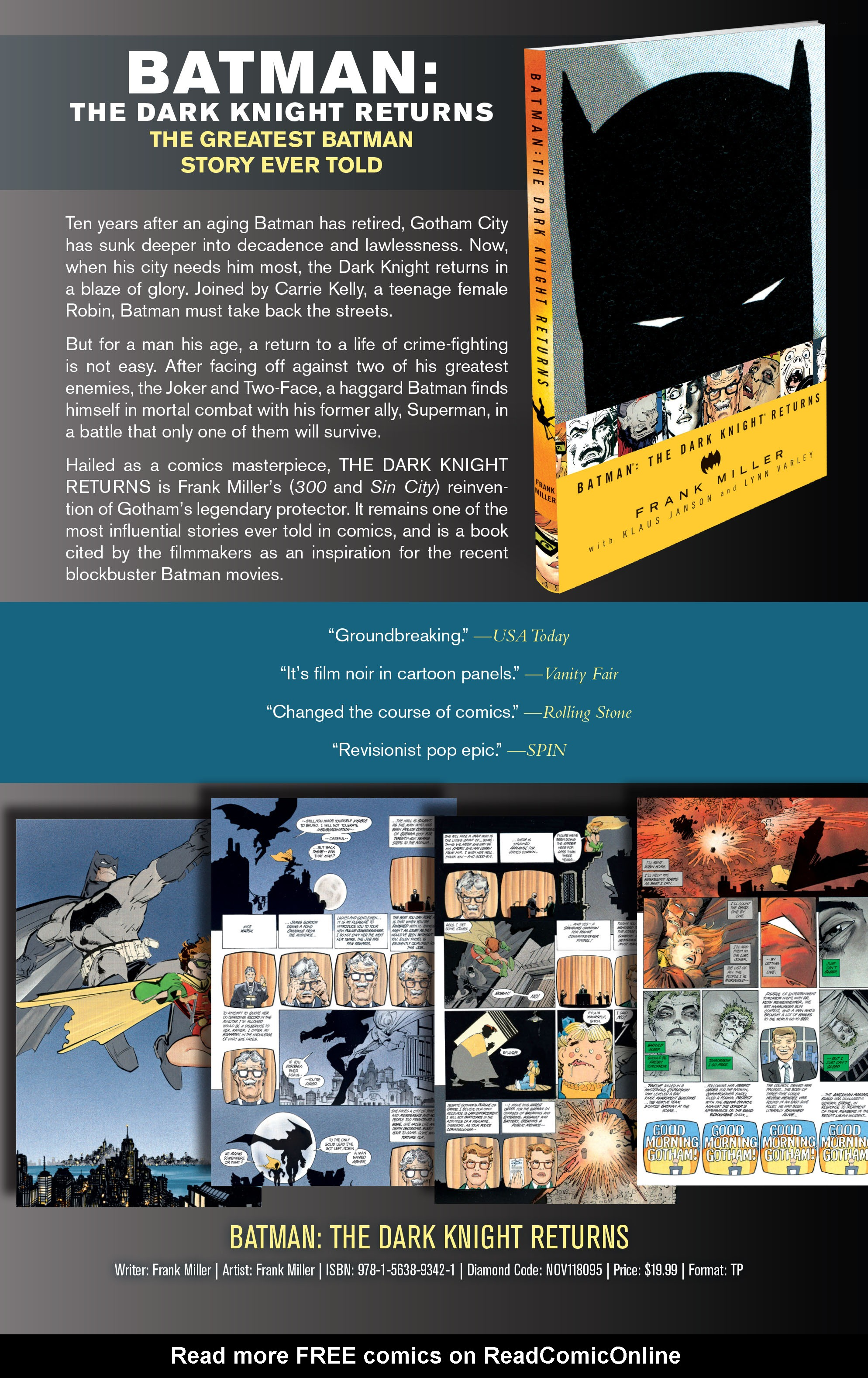 DC Comics Essentials: The Dark Knight Returns #Full - Read DC Comics