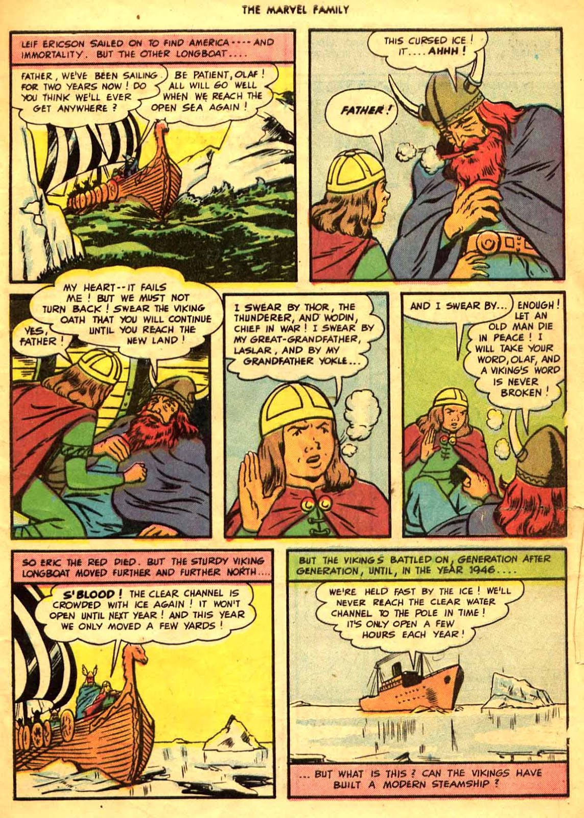 The Marvel Family issue 9 - Page 5