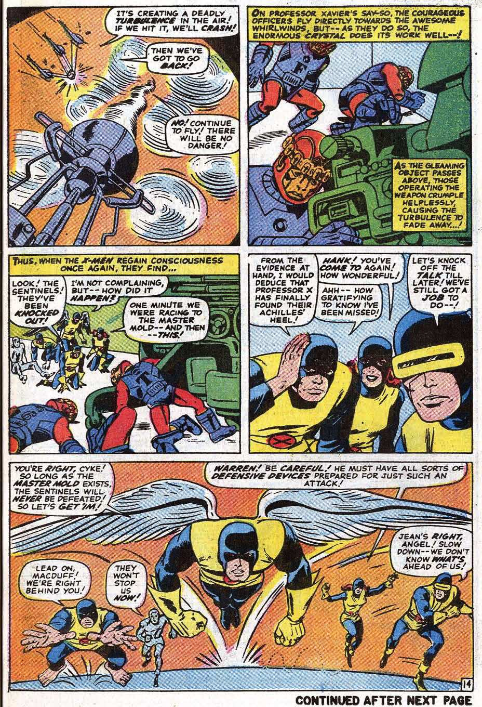 Read online Uncanny X-Men (1963) comic -  Issue #69 - 17