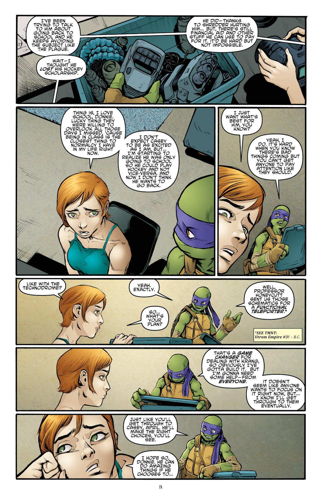 Read online Teenage Mutant Ninja Turtles: The IDW Collection comic -  Issue # TPB 4 (Part 3) - 20