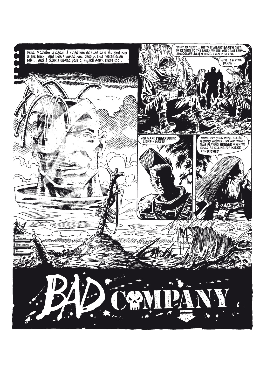 Read online The Complete Bad Company comic -  Issue # TPB - 44