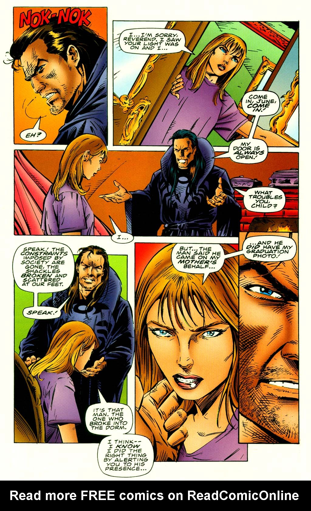 Read online Turok, Dinosaur Hunter (1993) comic -  Issue #42 - 8