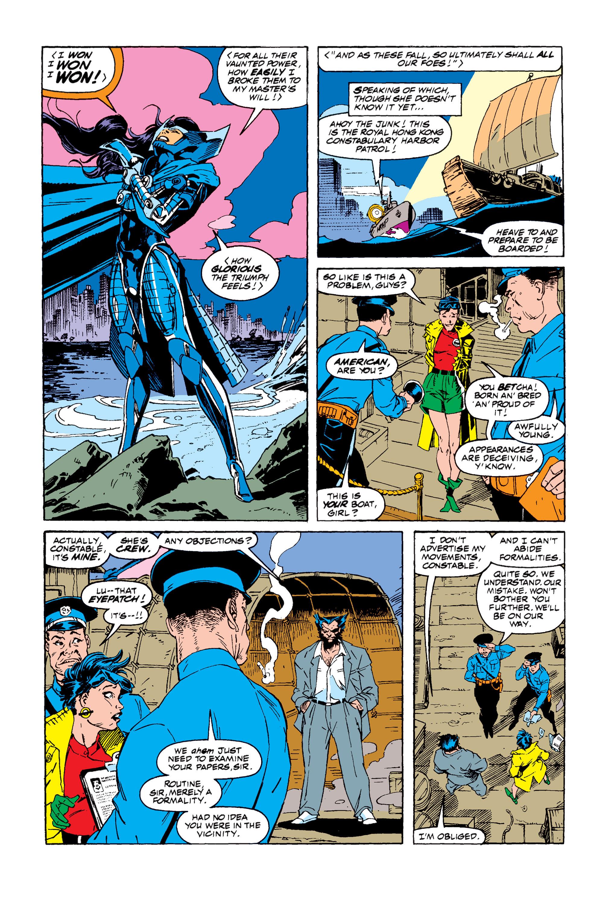 Read online Uncanny X-Men (1963) comic -  Issue #257 - 8